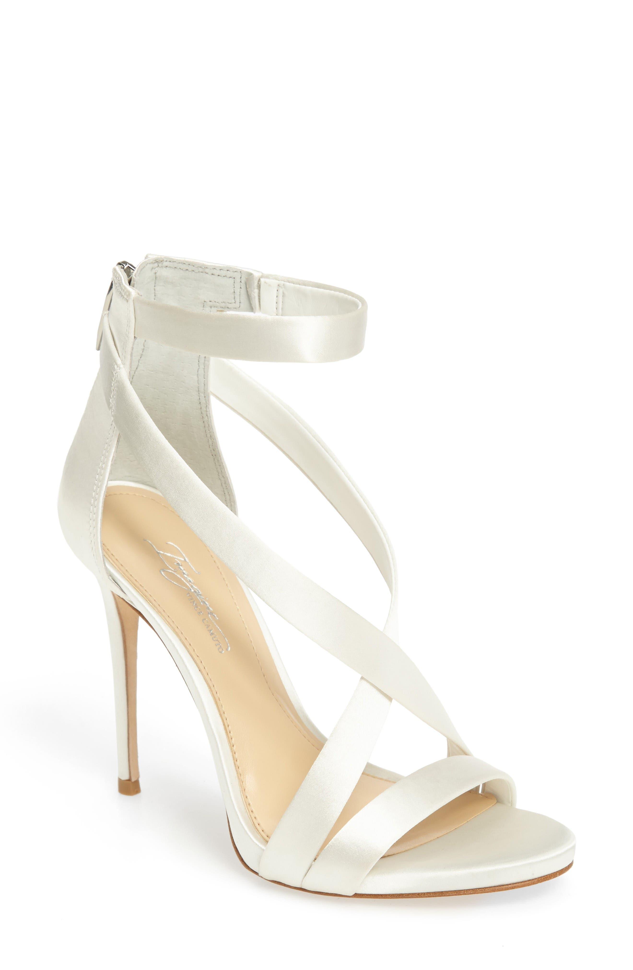 White Bridal Booties
