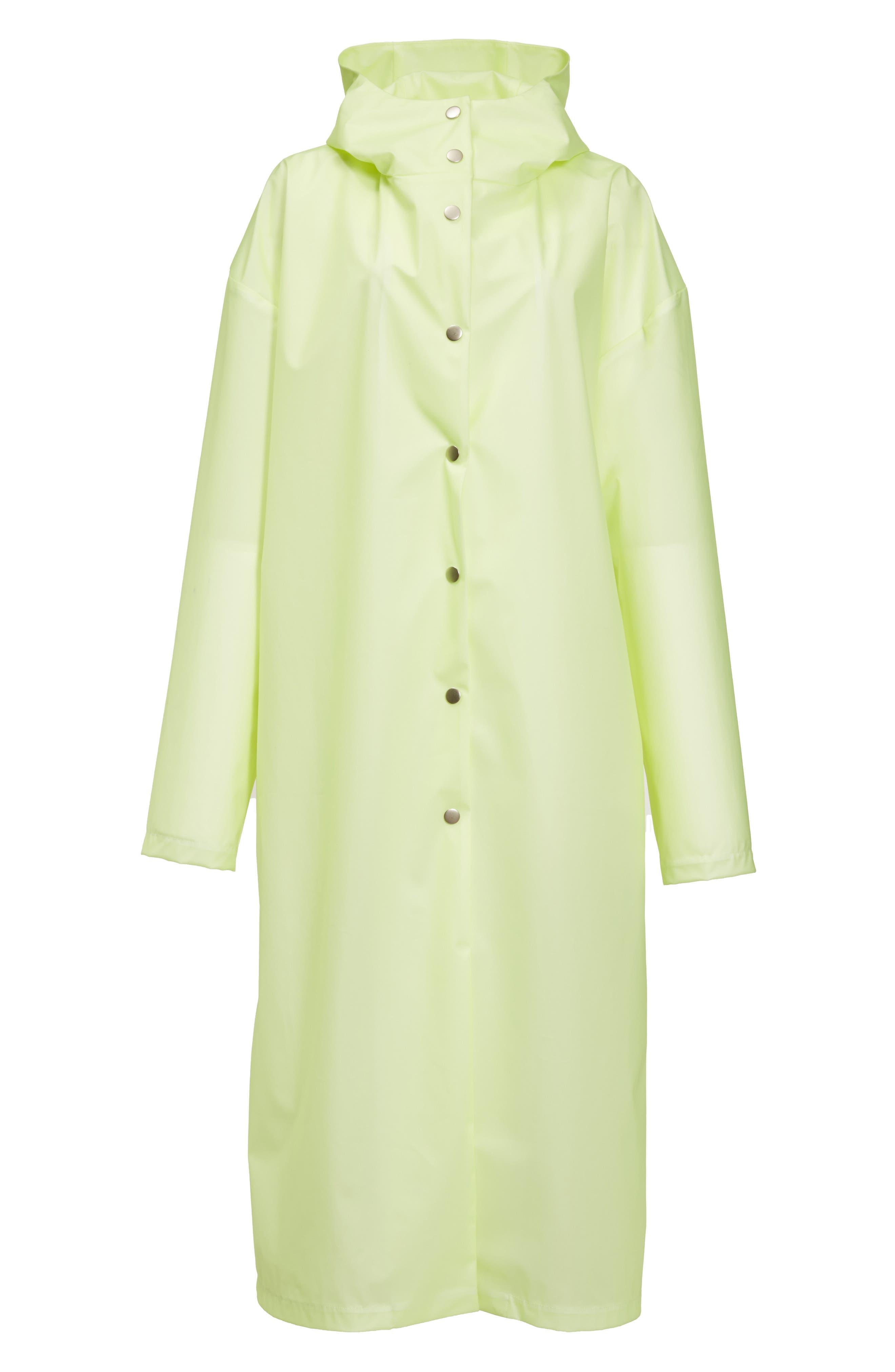 Alternate Image 4  - A.W.A.K.E. Oversize Waterproof Hooded Coat