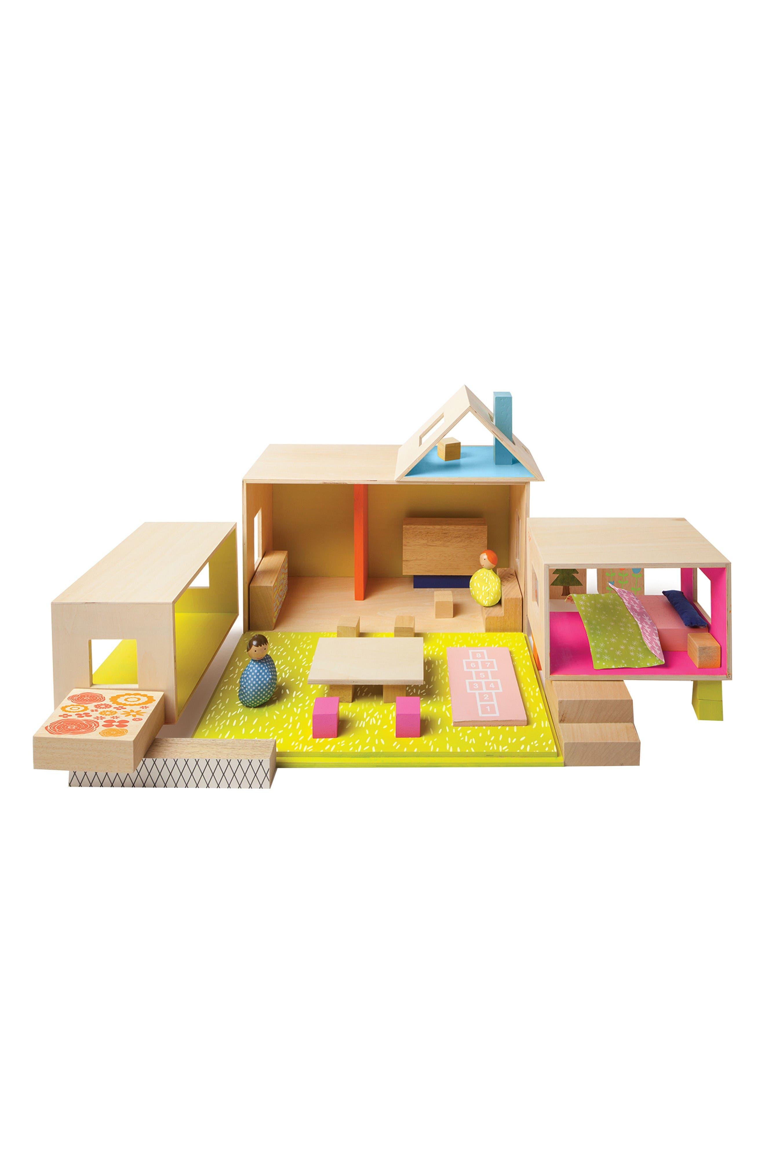 Alternate Image 1 Selected - Manhattan Toy MiO Playing Eating Sleeping Working Blocks