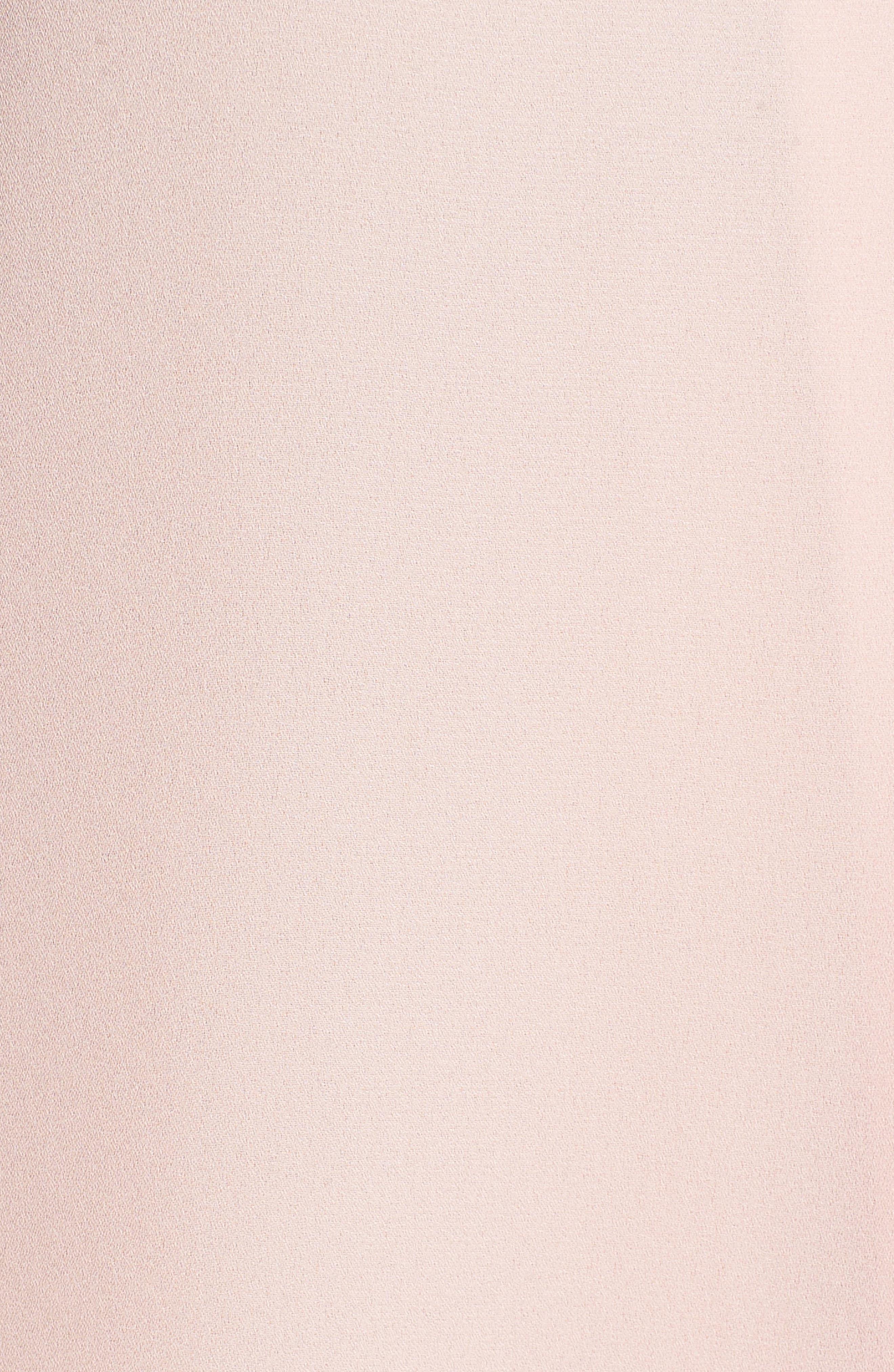 Sleeveless V-Neck Blouse,                             Alternate thumbnail 4, color,                             Rosy Flush