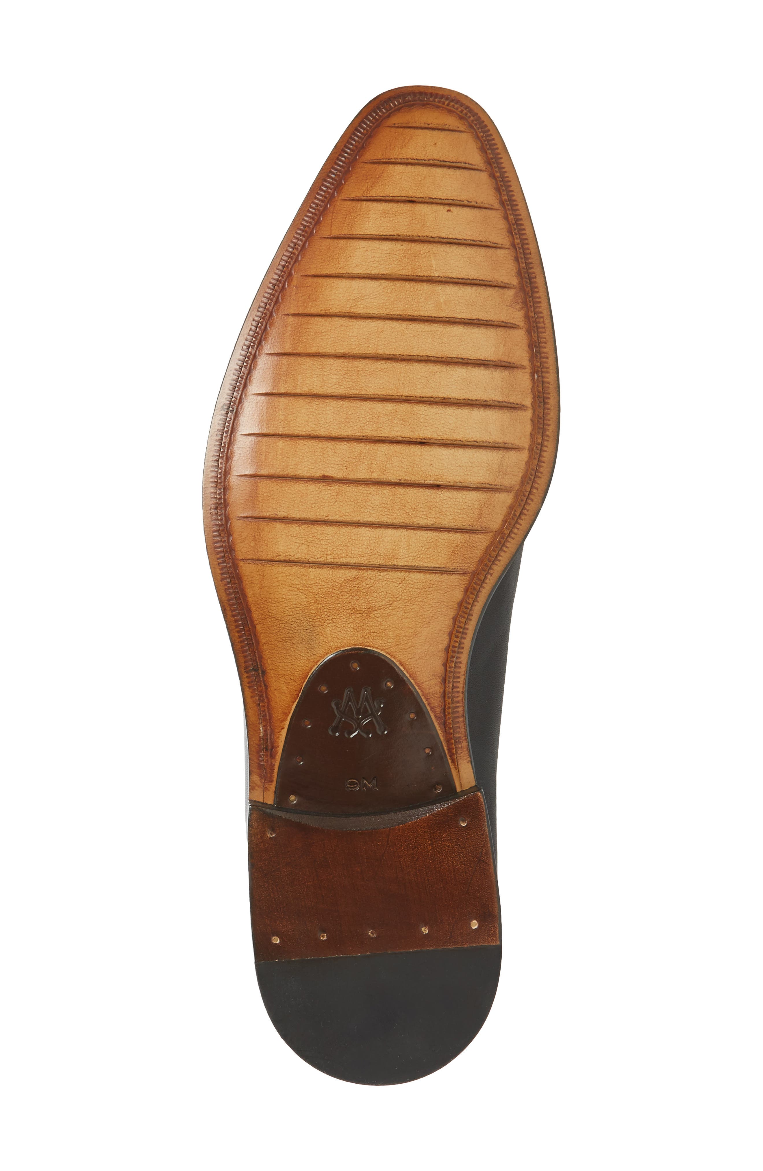 Strauss Venetian Loafer,                             Alternate thumbnail 4, color,                             Graphite Leather