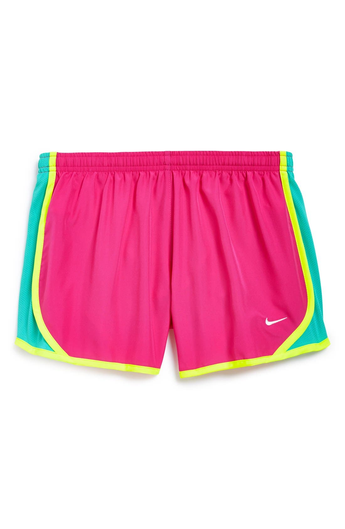 Alternate Image 1 Selected - Nike 'Tempo' Track Shorts (Big Girls)