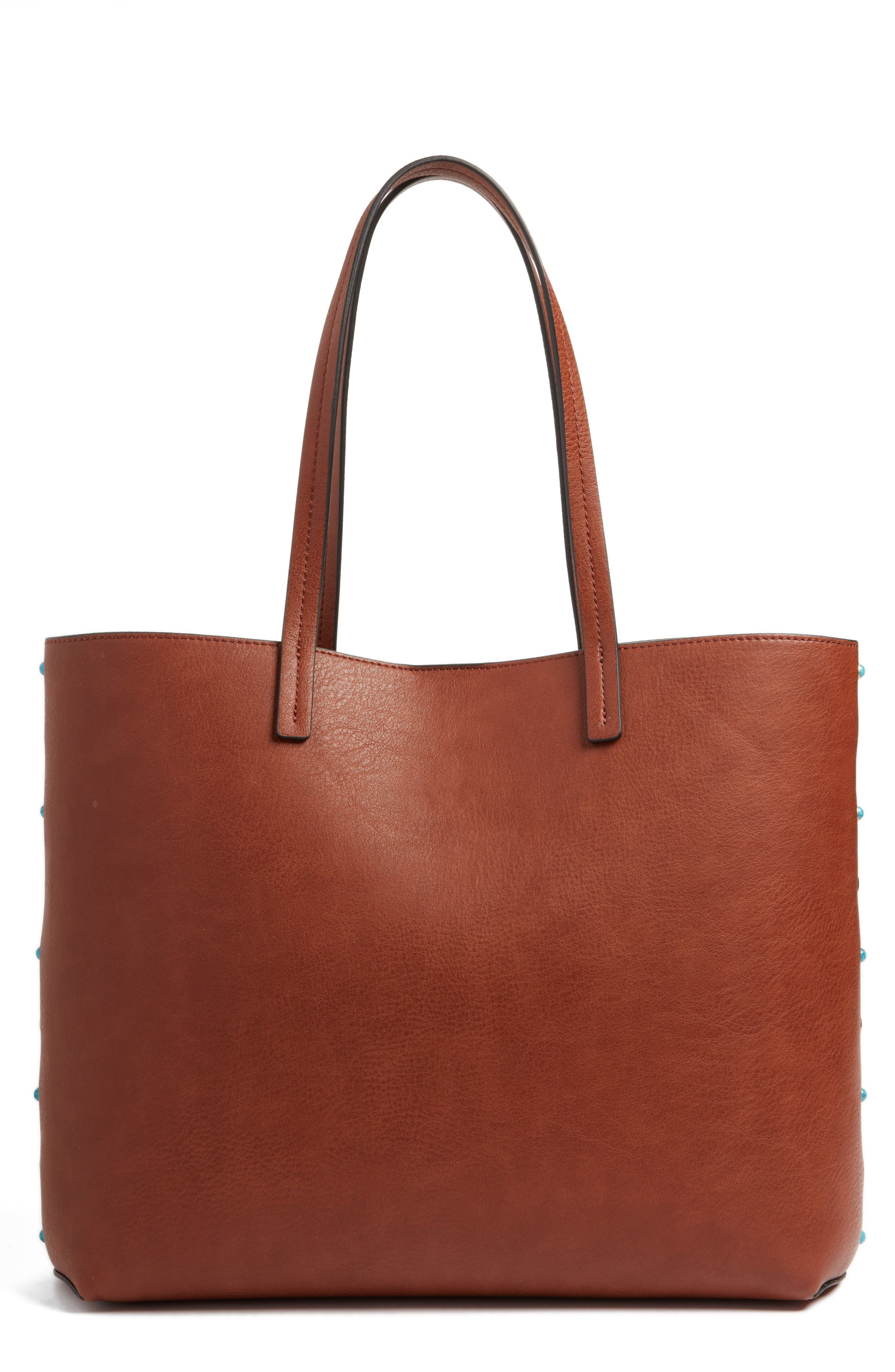 Main Image - Chelsea28 Olivia Faux Leather Tote