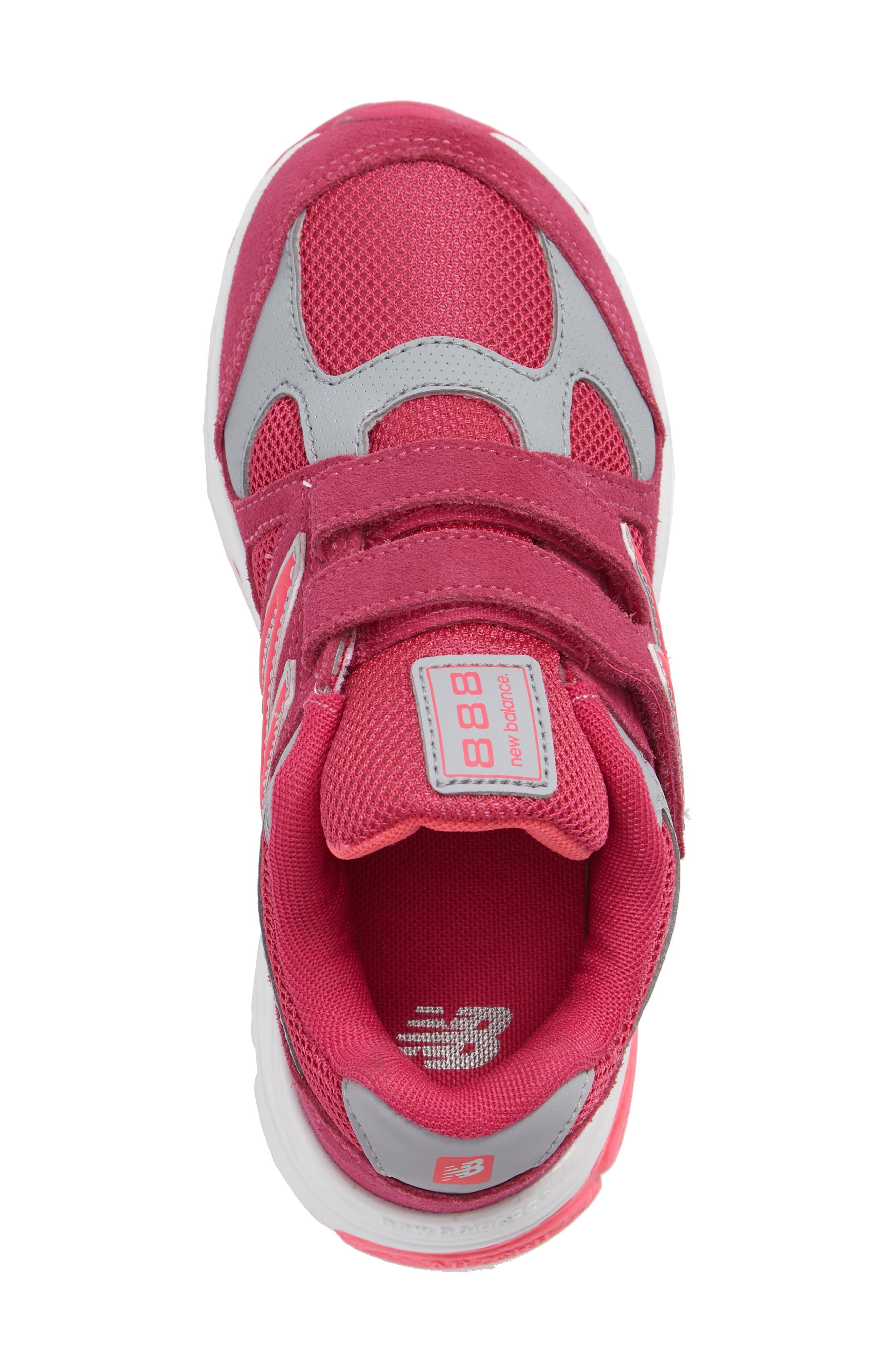 888 Sneaker,                             Alternate thumbnail 3, color,                             Pink/Grey