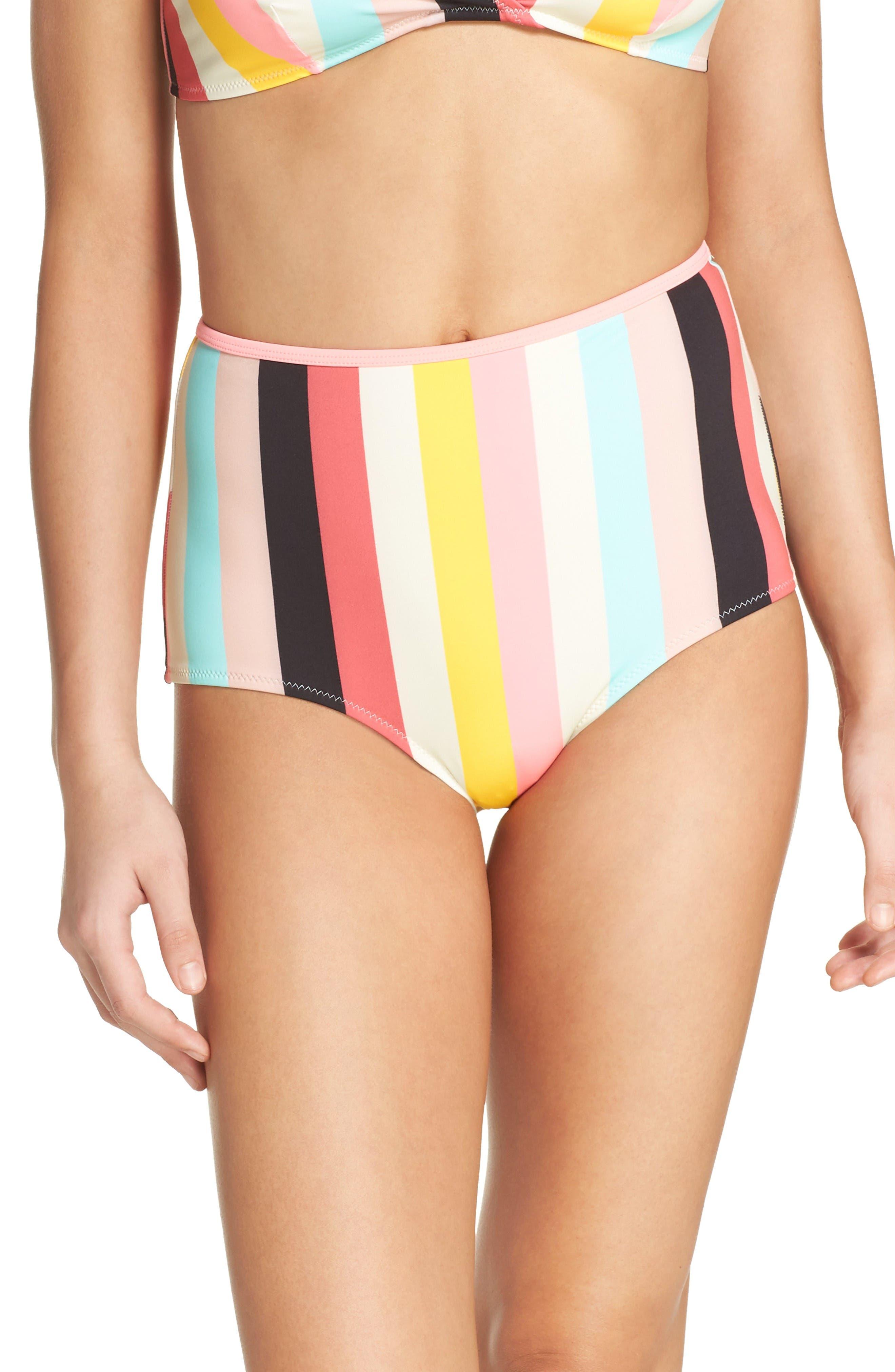 Alternate Image 1 Selected - Solid & Striped Brigitte High Waist Bikini Bottoms