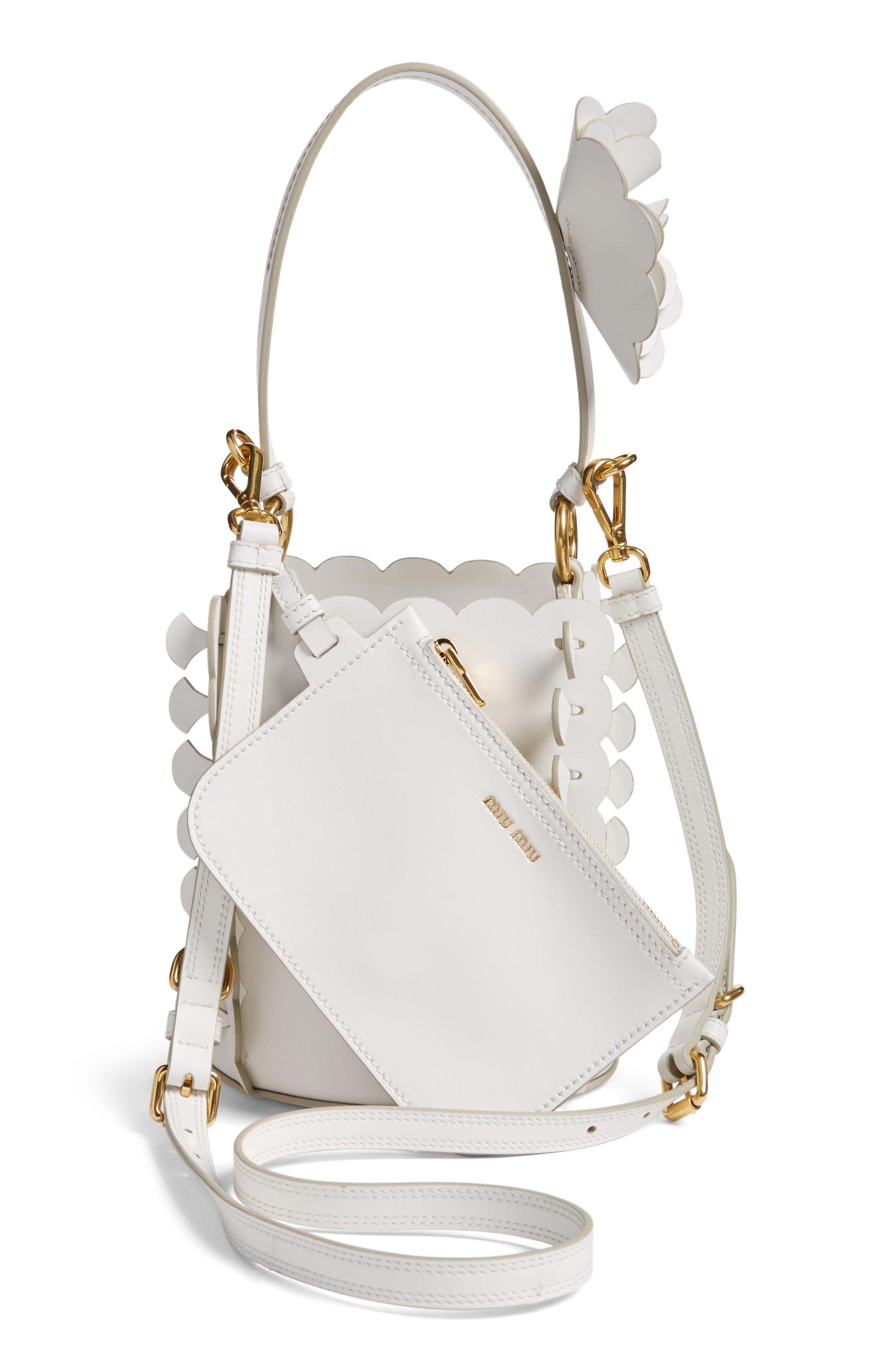 Alternate Image 4  - Miu Miu Leather Bucket Bag