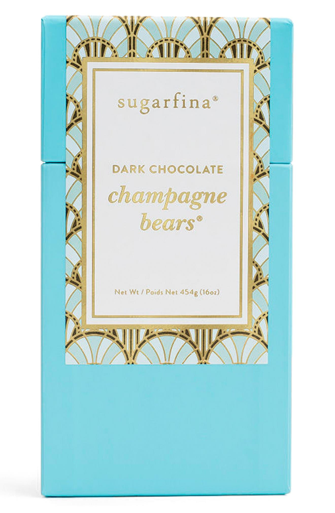Main Image - sugarfina Dark Chocolate Champagne Bears®