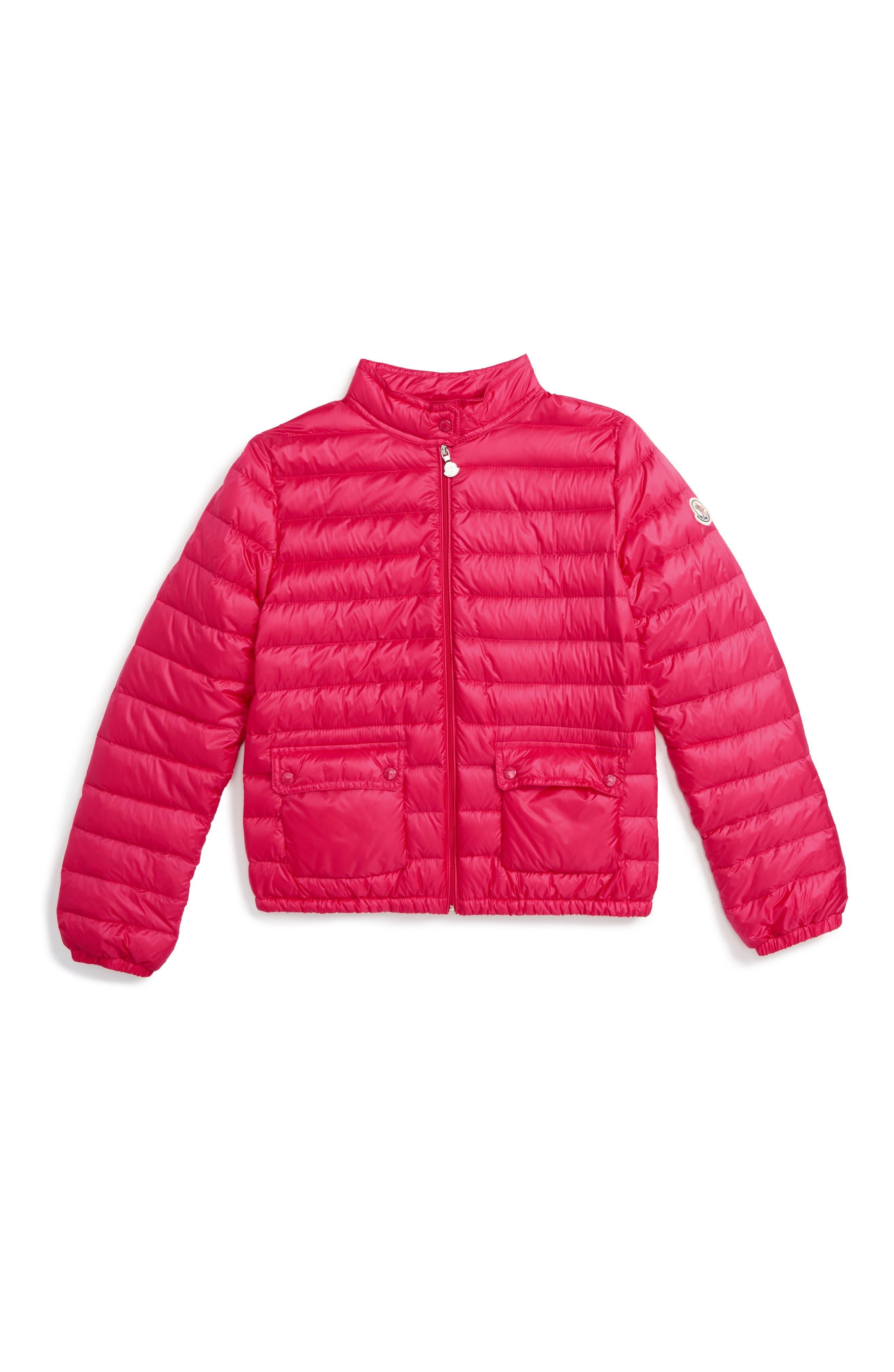 Moncler Lans Water Resistant Down Jacket (Toddler Girls, Little Girls & Big Girls)