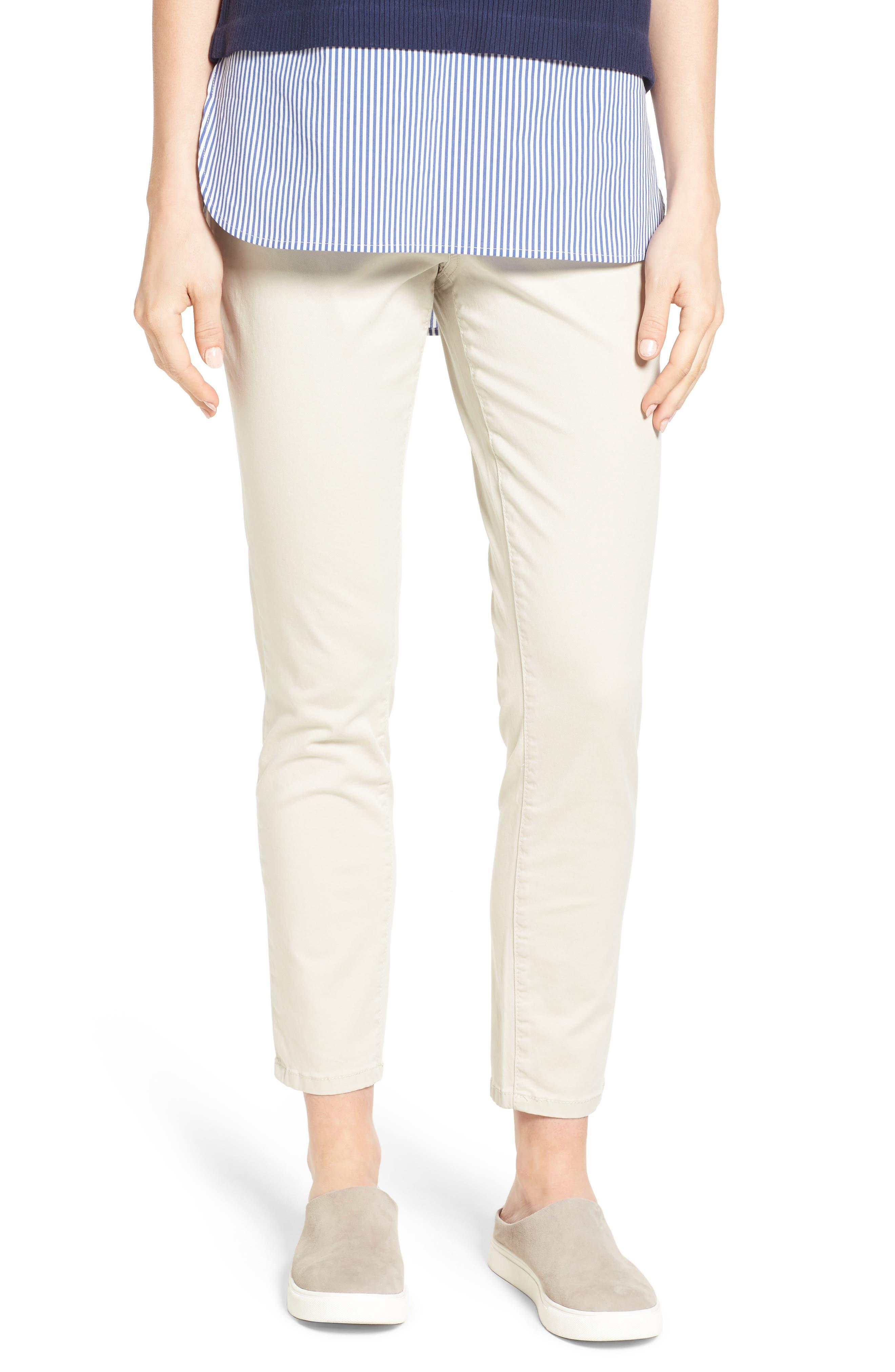 Main Image - Jag Jeans Amelia Pull-On Slim Stretch Twill Ankle Pants (Regular & Petite)