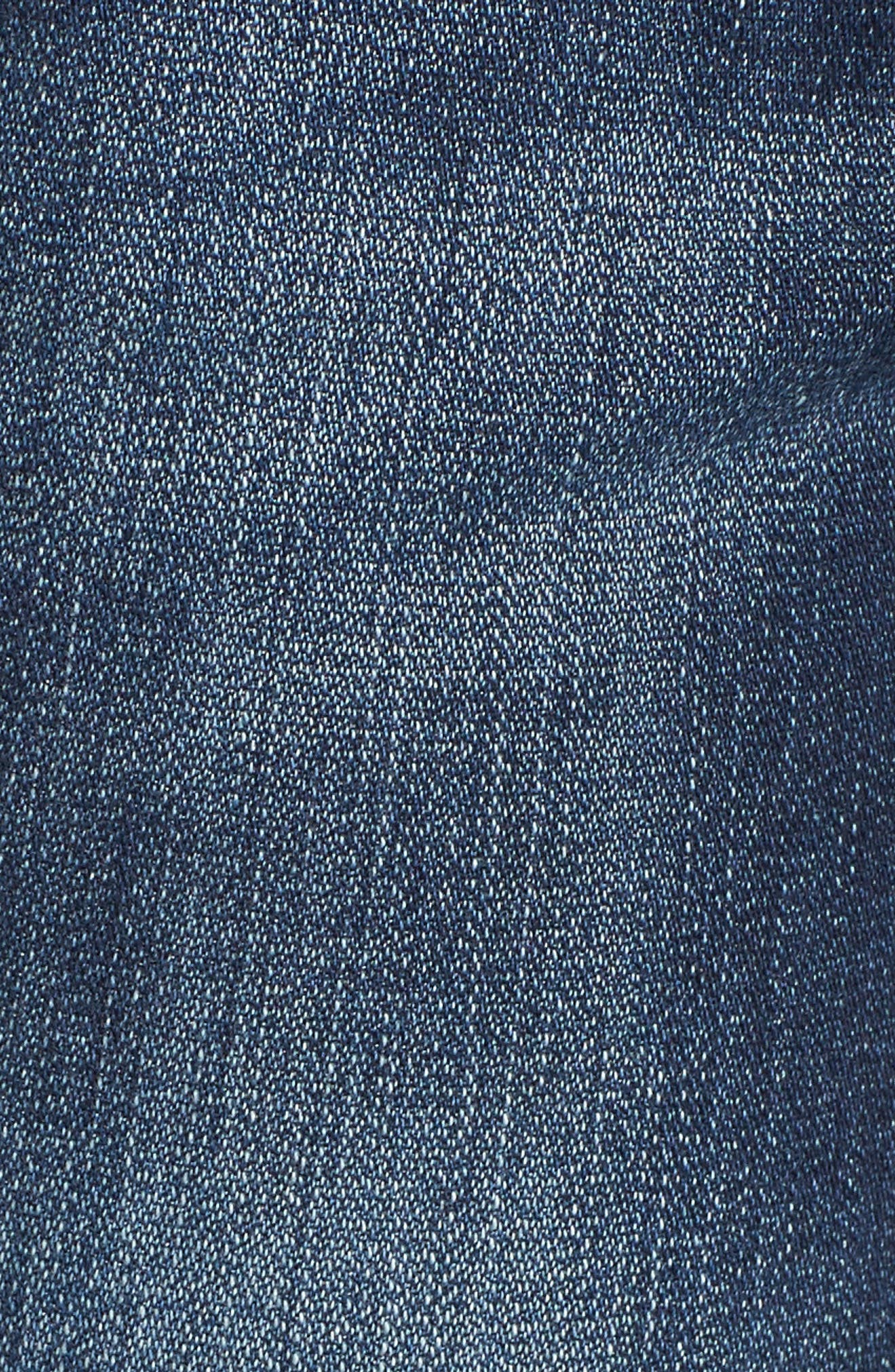 Alternate Image 5  - Jag Nora Stretch Cotton Skinny Jeans (Medium Indigo)
