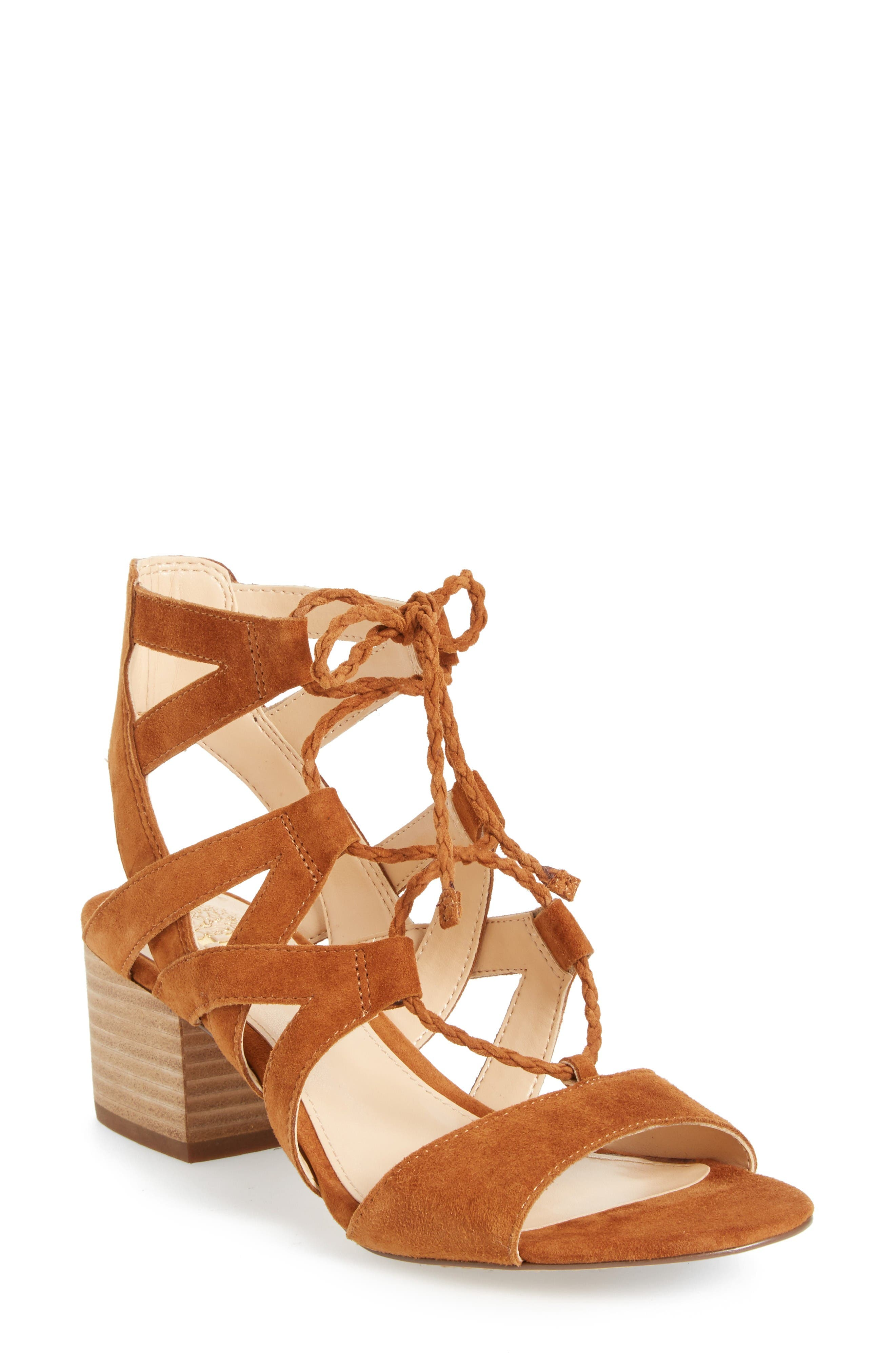 Alternate Image 1 Selected - Vince Camuto Fauna Sandal (Women)