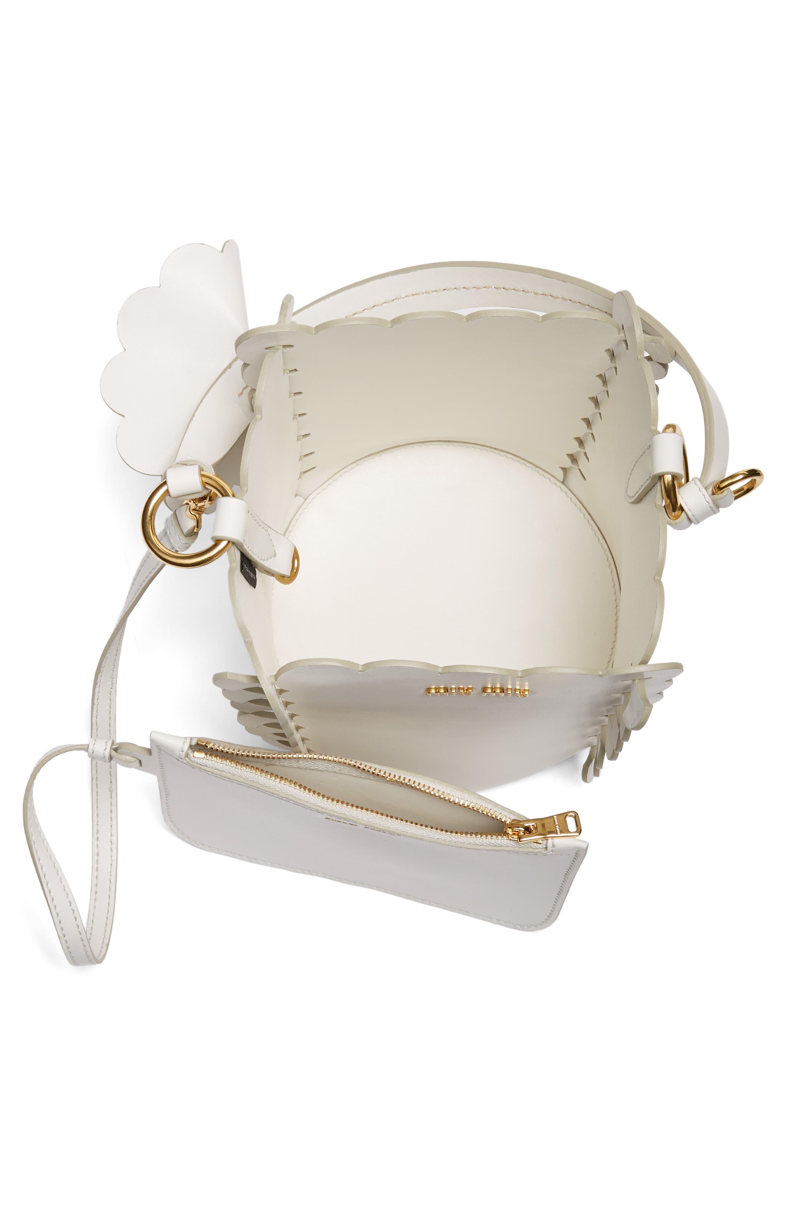Alternate Image 3  - Miu Miu Leather Bucket Bag