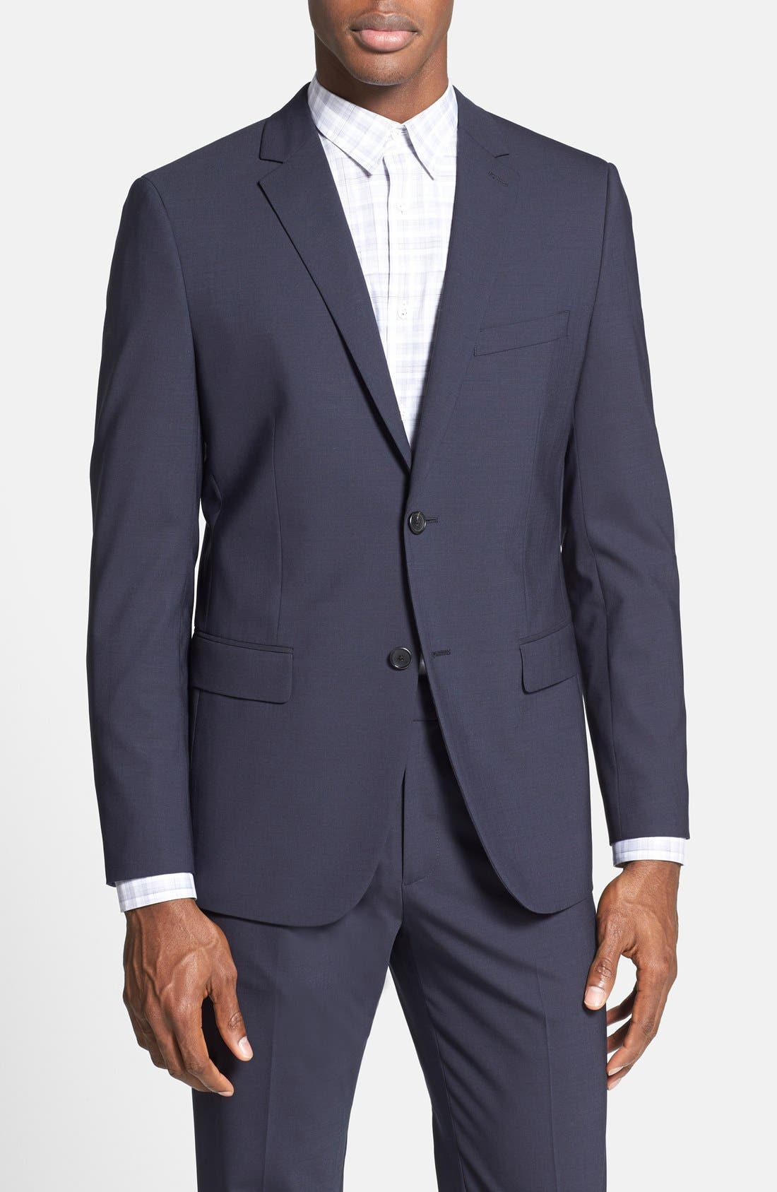 Theory 'Wellar New Tailor' Trim Fit Wool Blend Sport Coat