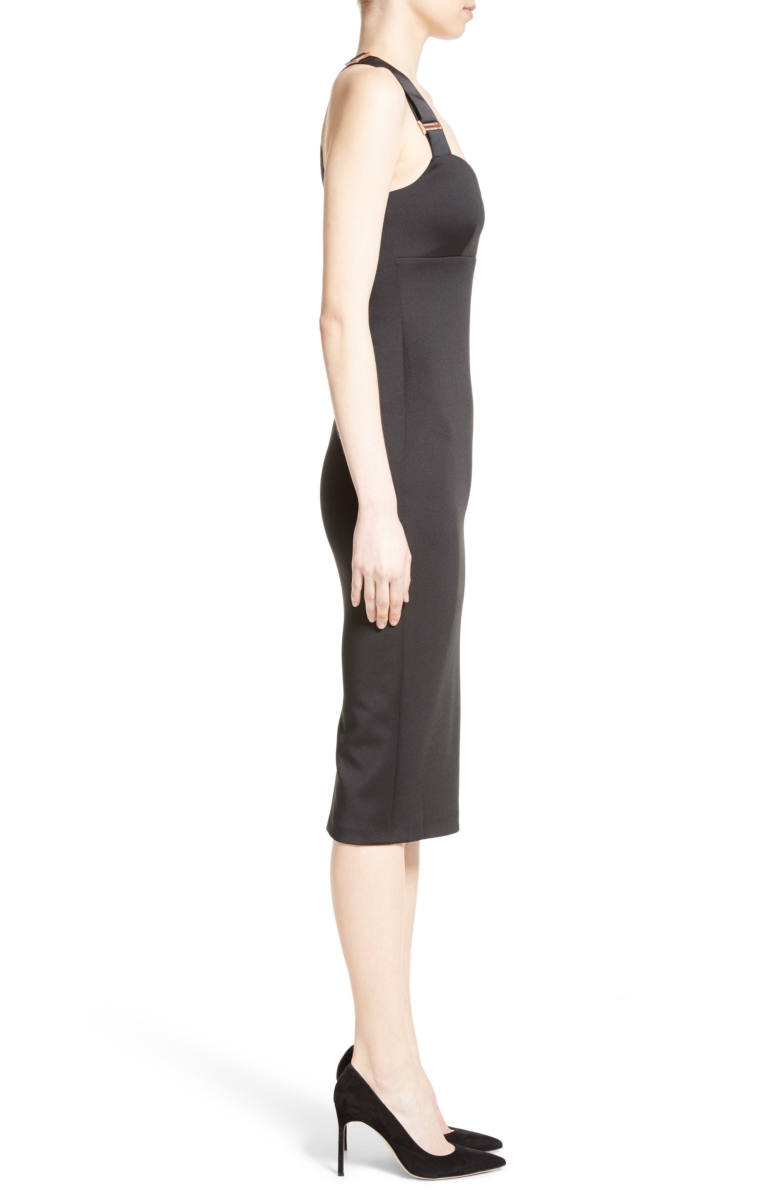 Alternate Image 3  - Ted Baker London Akeltt Neoprene Sheath Dress