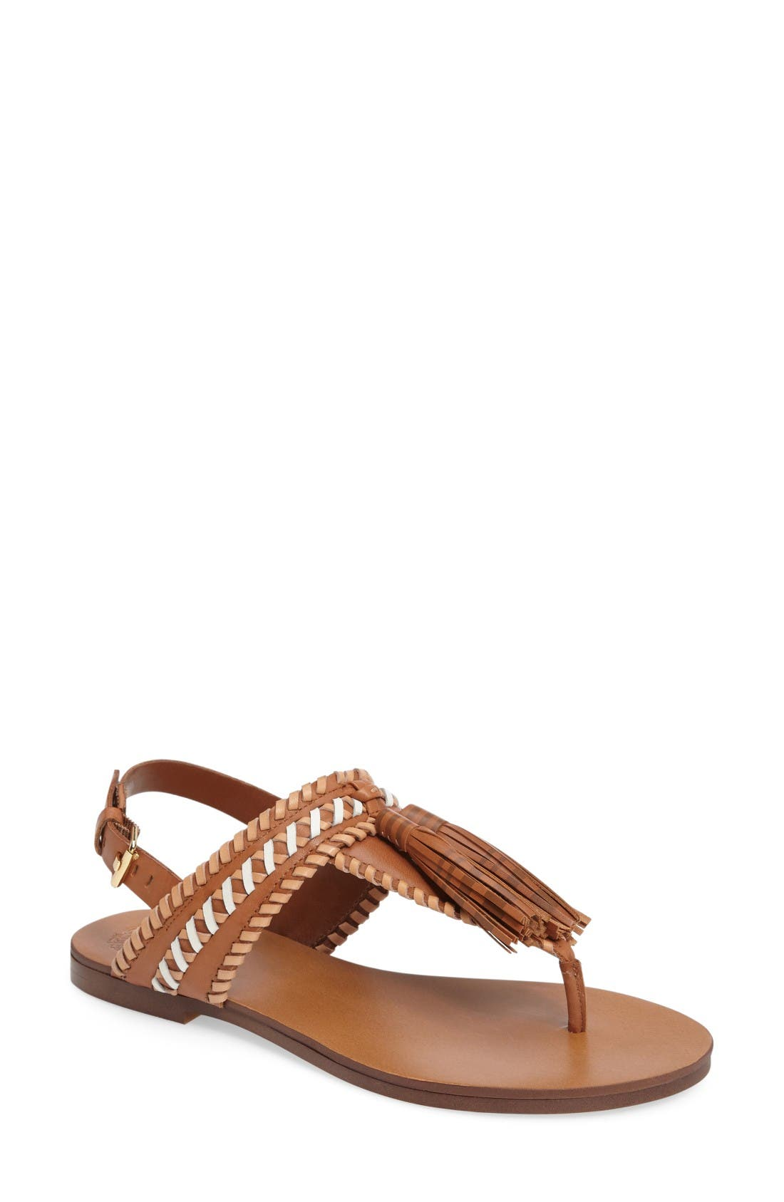 Rebeka Sandal,                         Main,                         color, Whiskey Bar Leather