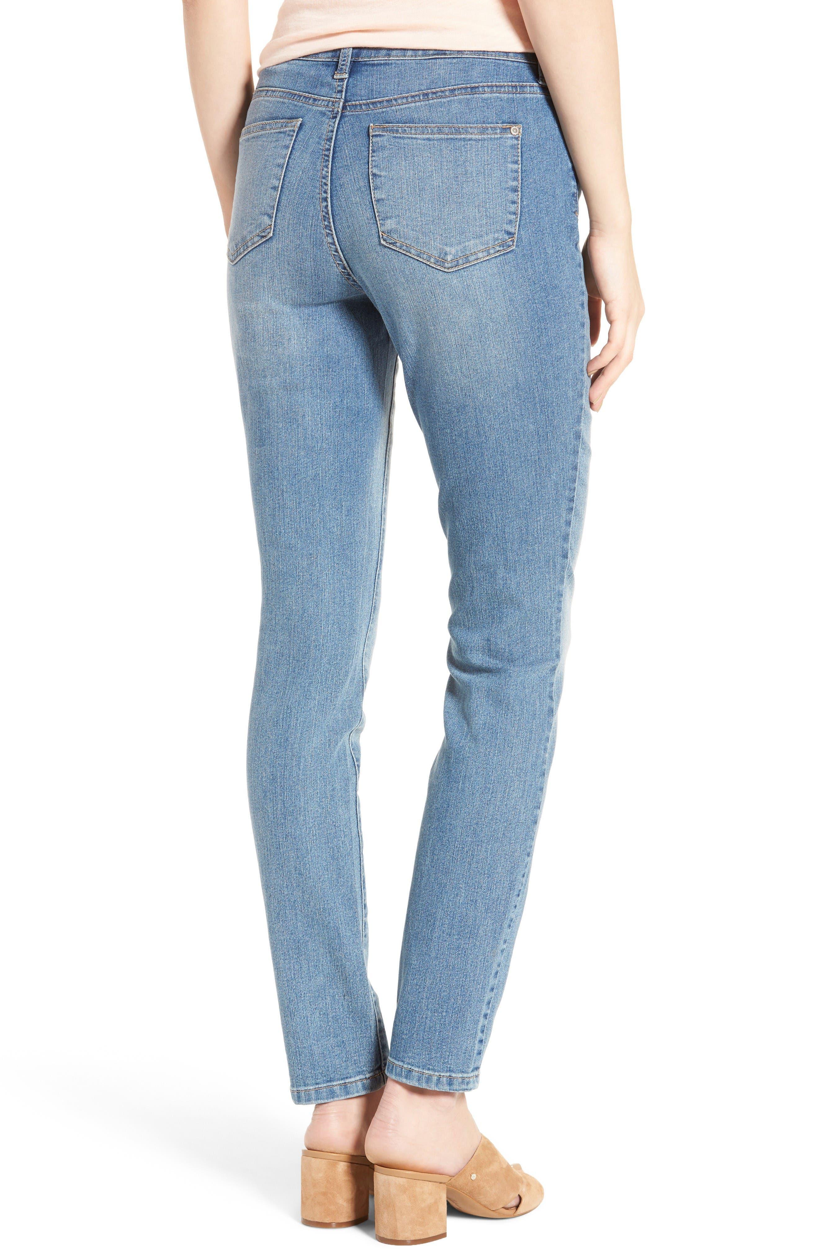 Alternate Image 2  - NYDJ Alina Skinny Jeans (Oxford)