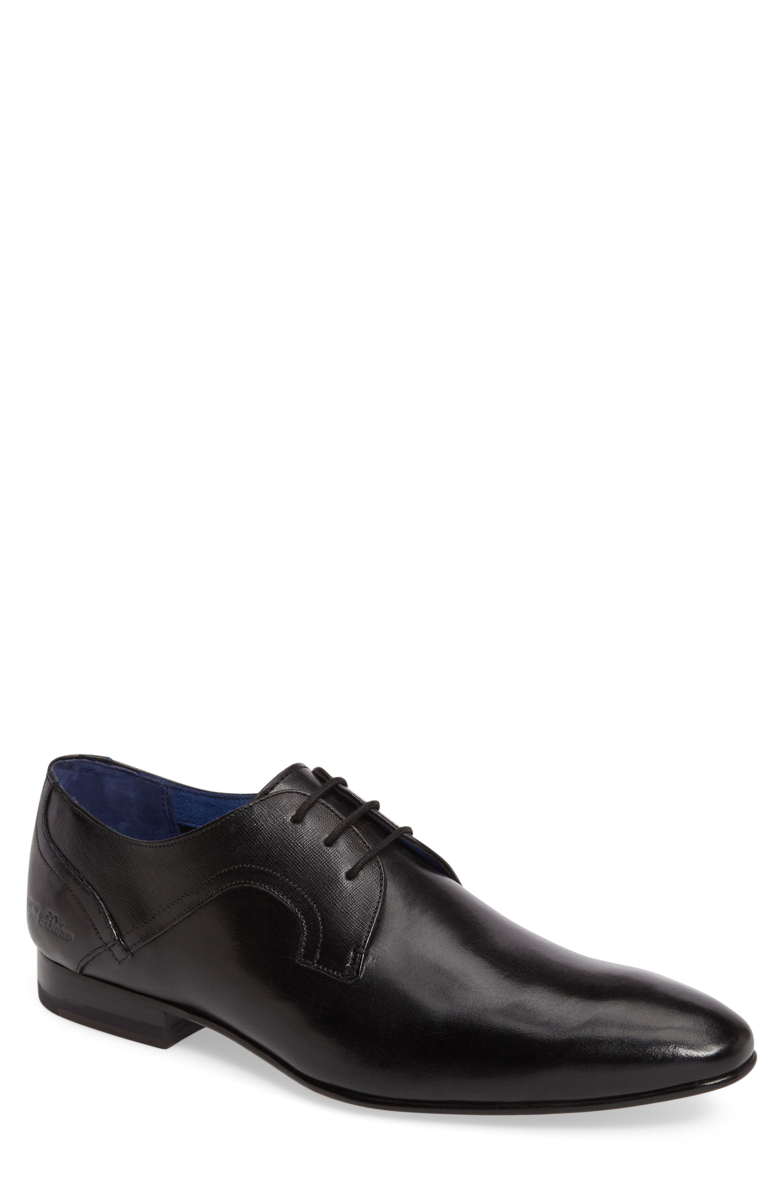 Ted Baker London Pelton Plain Toe Derby (Men)