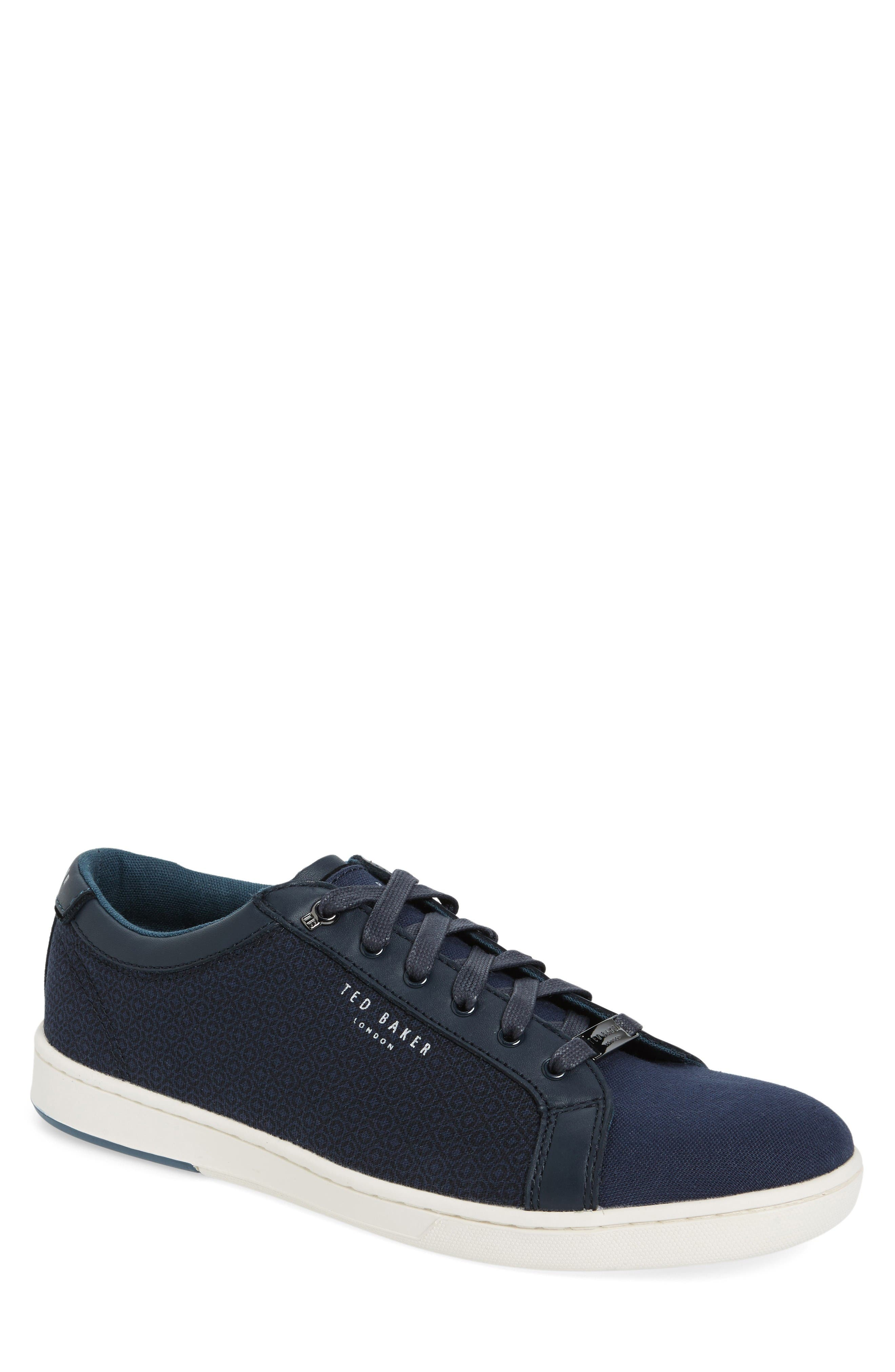 Ted Baker London Ternur Geo Print Sneaker (Men)