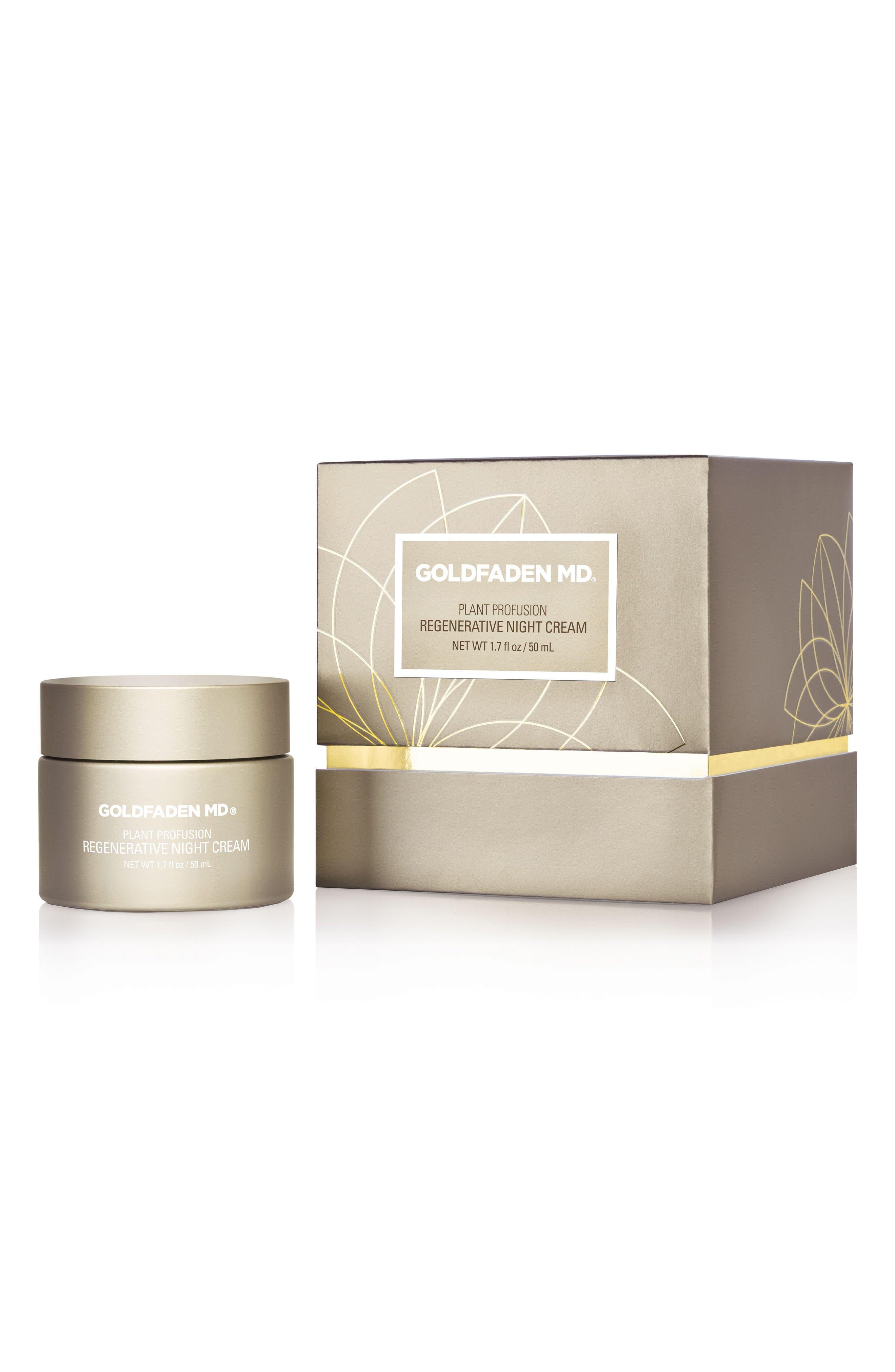 SPACE.NK.apothecary Goldfaden MD Plant Profusion Regenerative Night Cream,                         Main,                         color, No Color