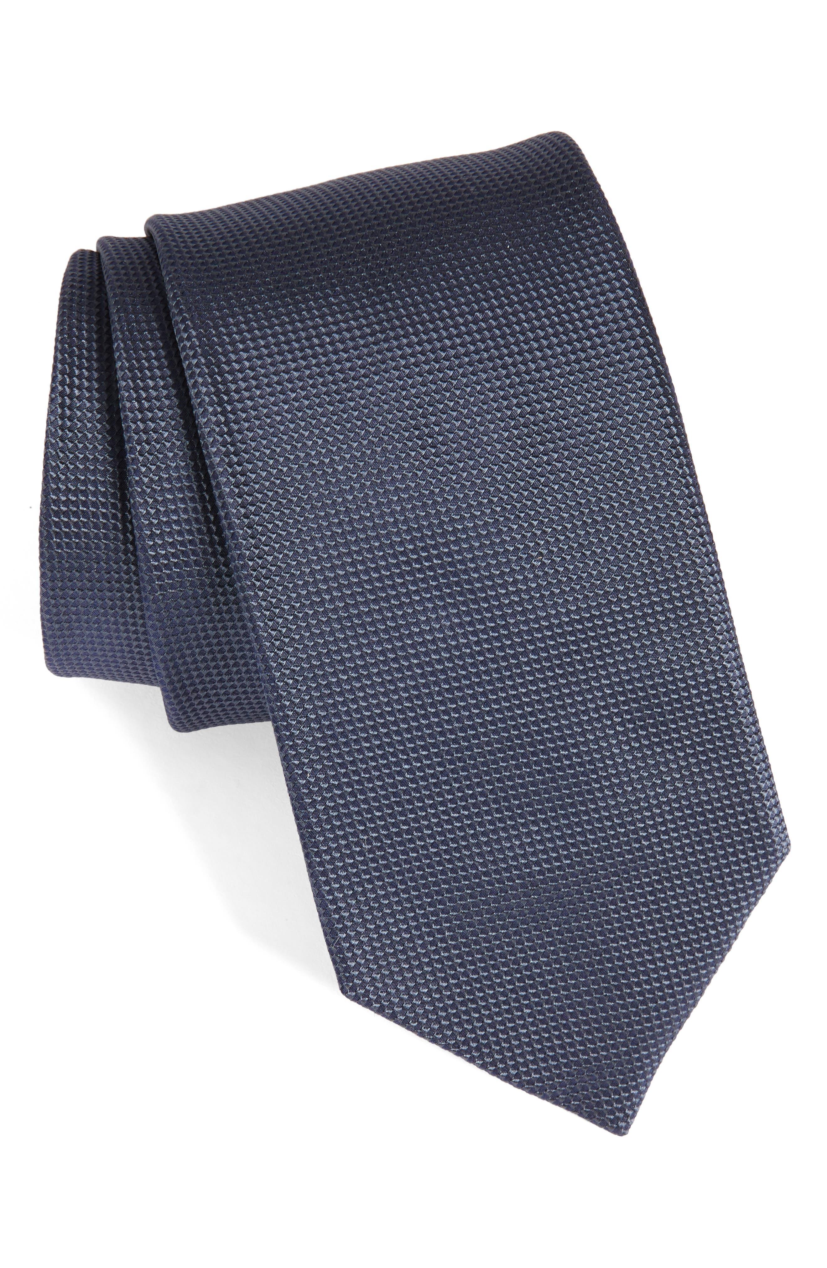 Alternate Image 1 Selected - BOSS Solid Silk Tie
