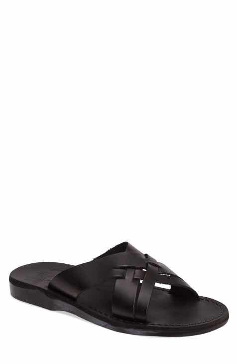 ec53941417ecc Jerusalem Sandals Jesse Slide Sandal (Men)