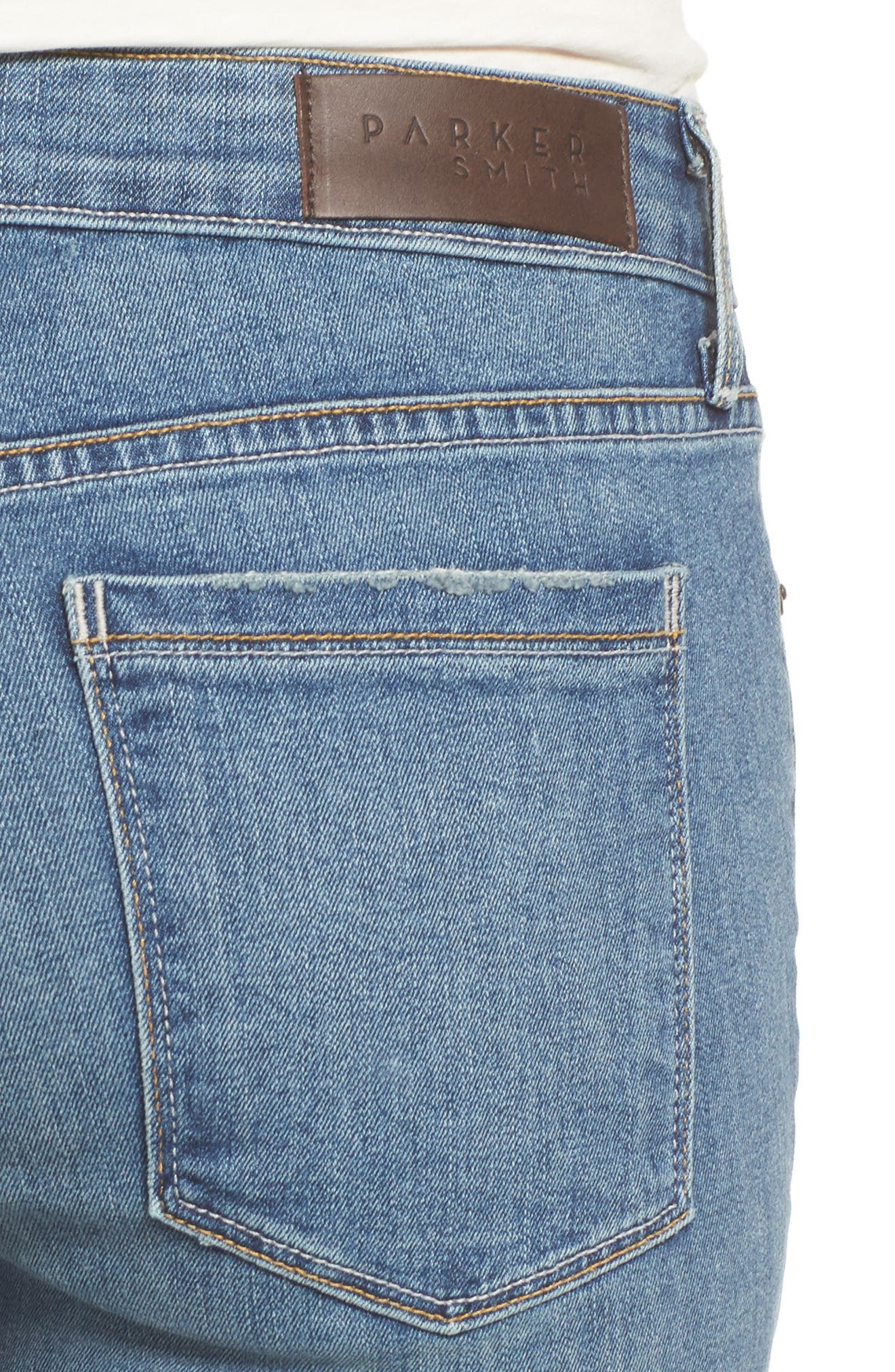 Alternate Image 4  - PARKER SMITH Ava Stretch Skinny Jeans (Liverpool)