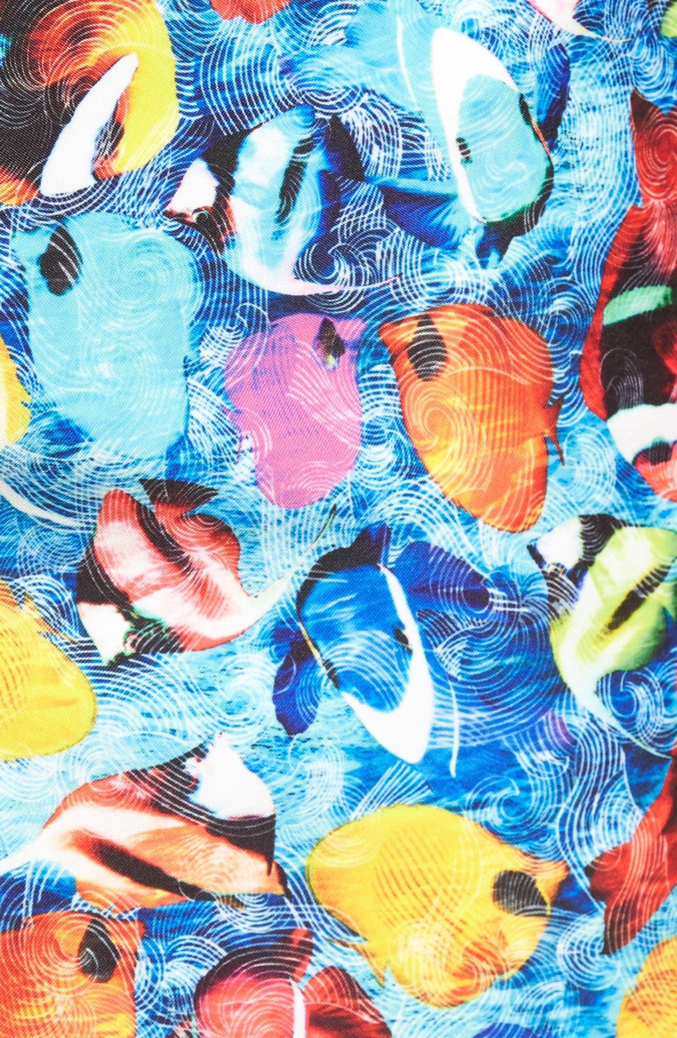 Alternate Image 5  - Bugatchi Swim Trunks