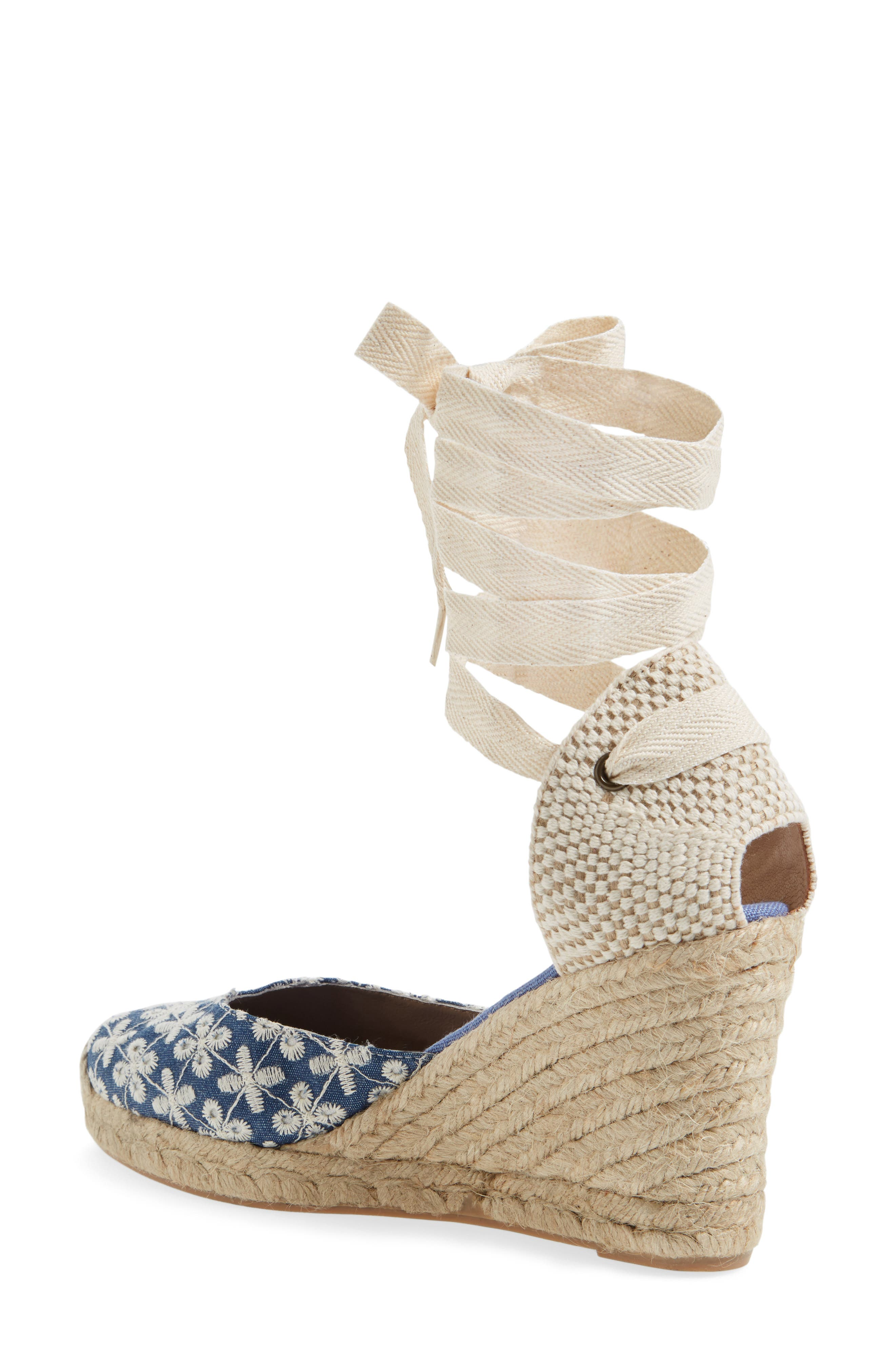 Alternate Image 2  - Soludos Espadrille Wedge Sandal (Women)