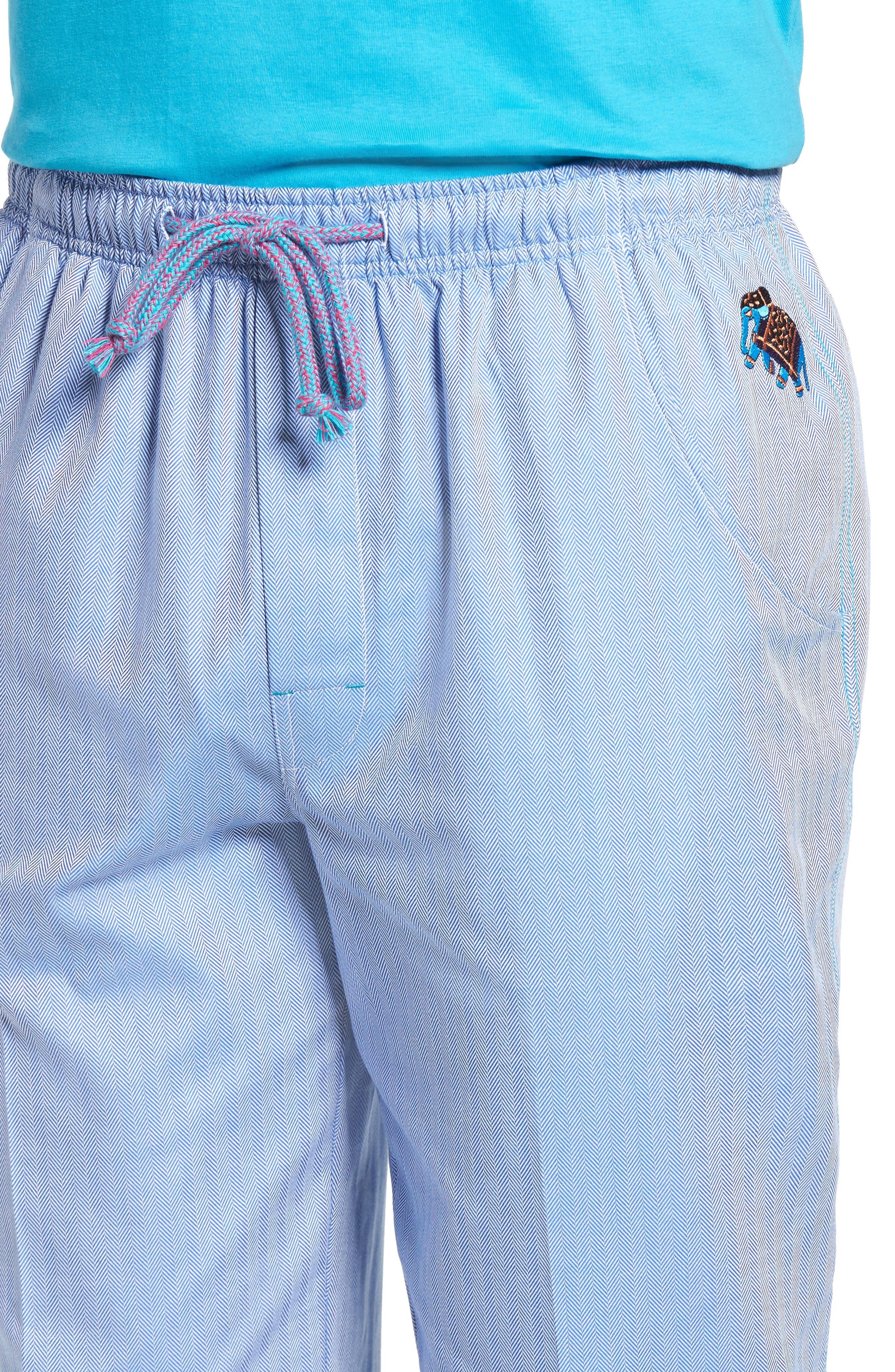 Alternate Image 4  - Robert Graham Fusion Pajama Set