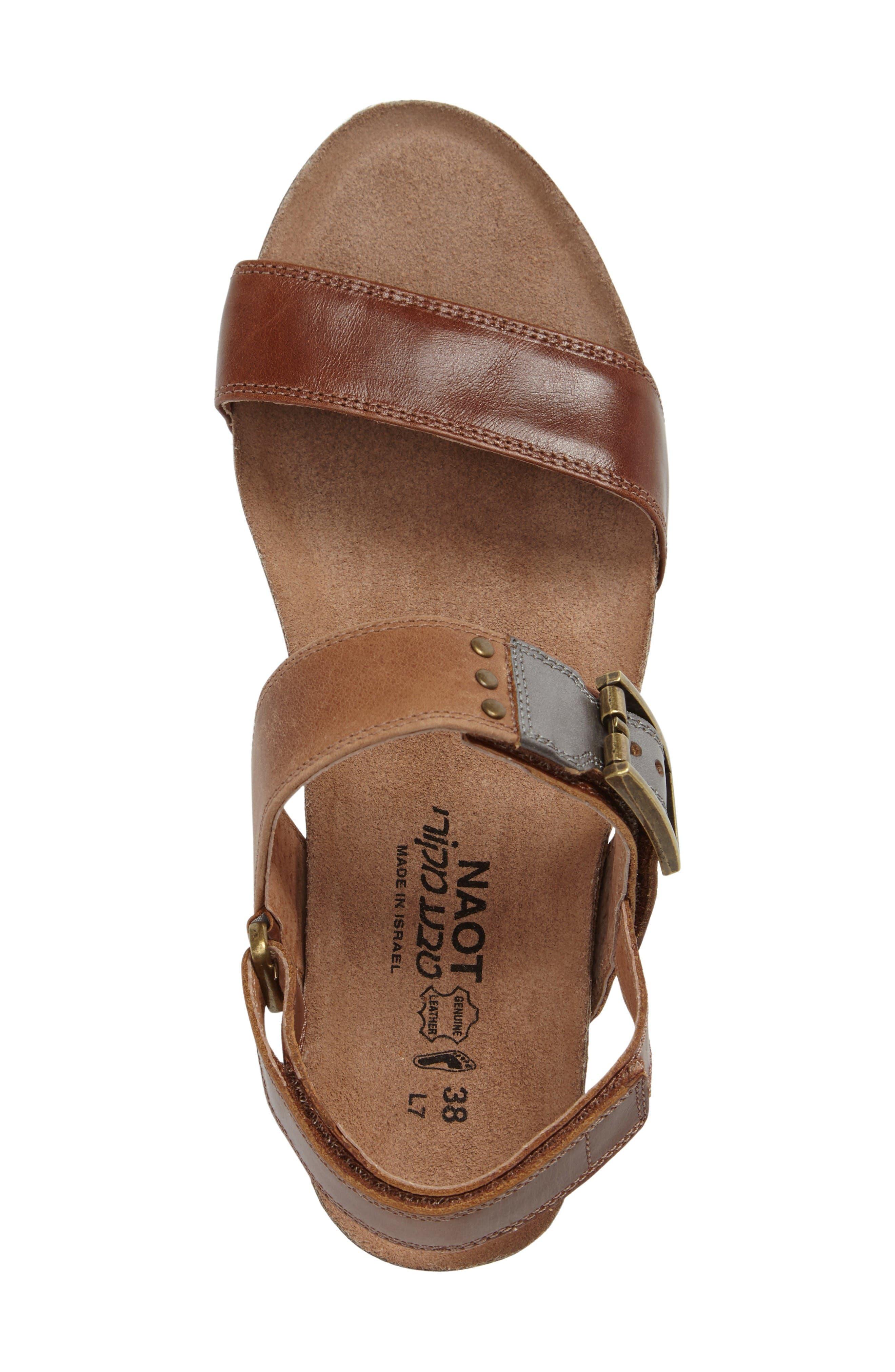 Alternate Image 3  - Naot Alpha Platform Wedge Sandal Sandal (Women)