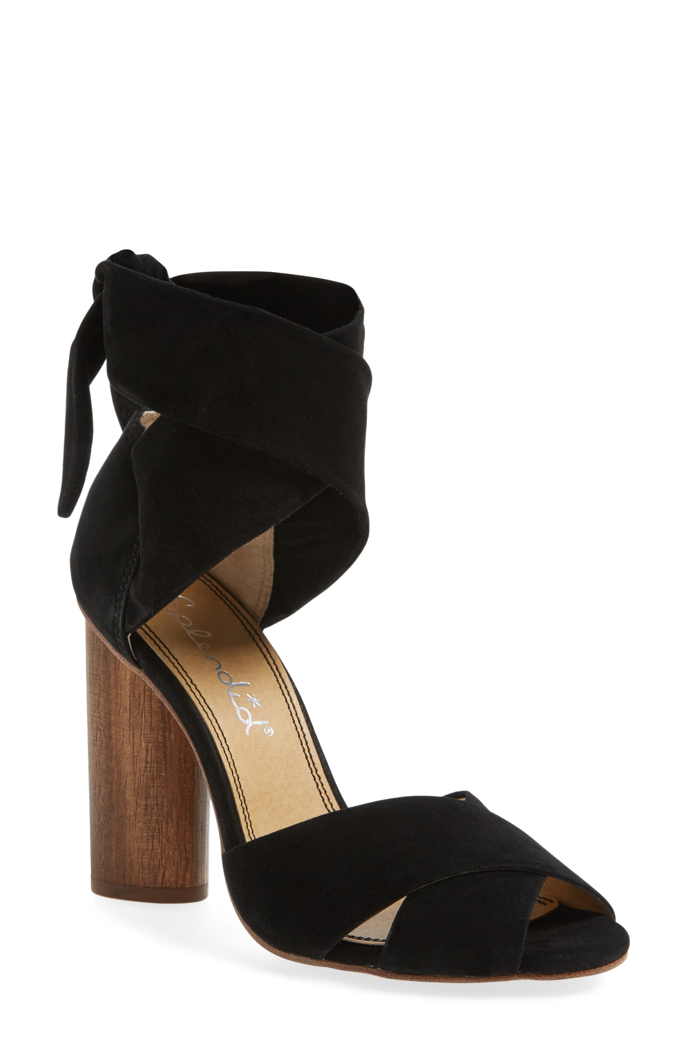 SPLENDID Johnson Block Heel Sandal