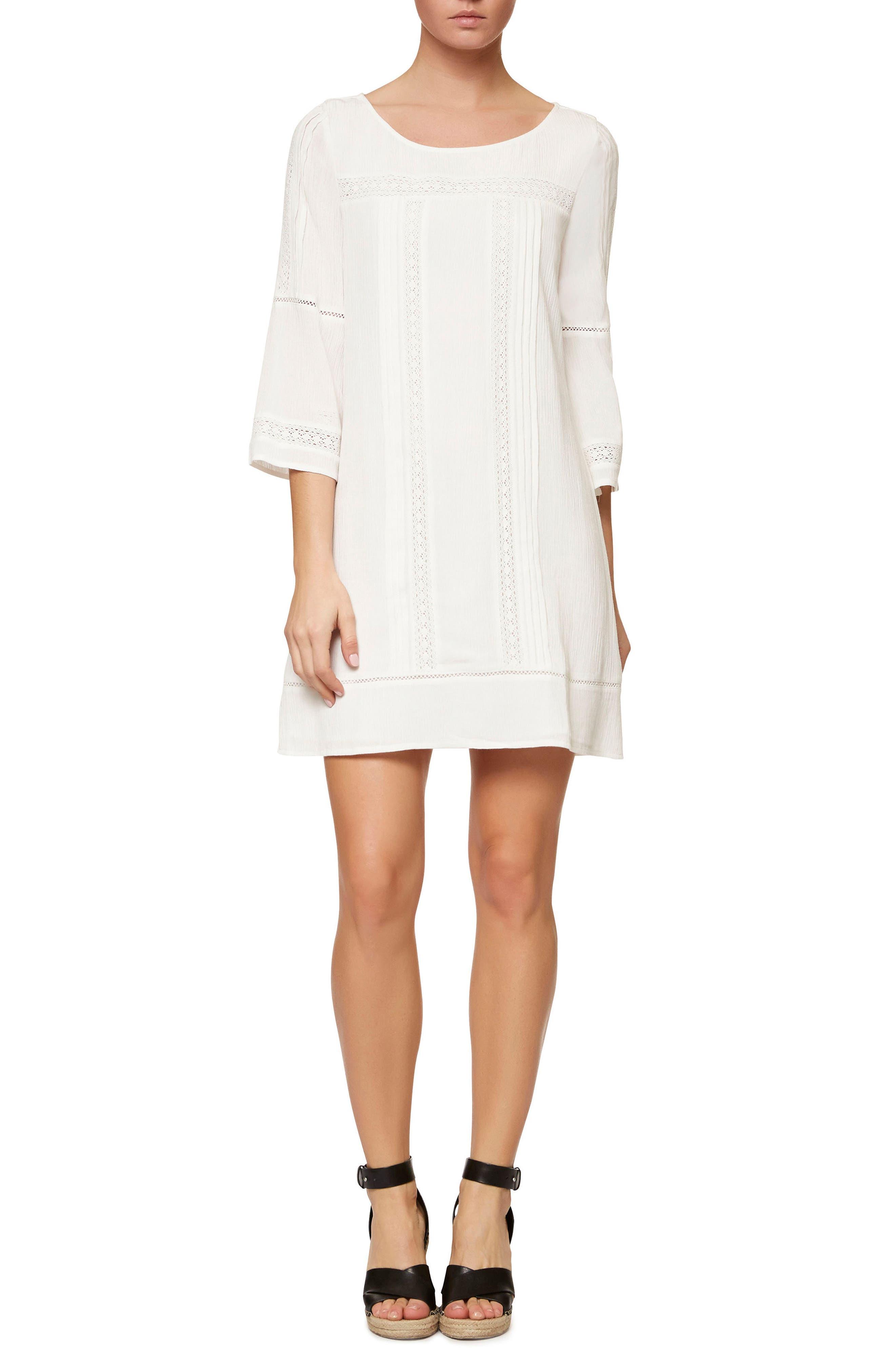 Main Image - Sanctuary Lace Trim Shift Dress