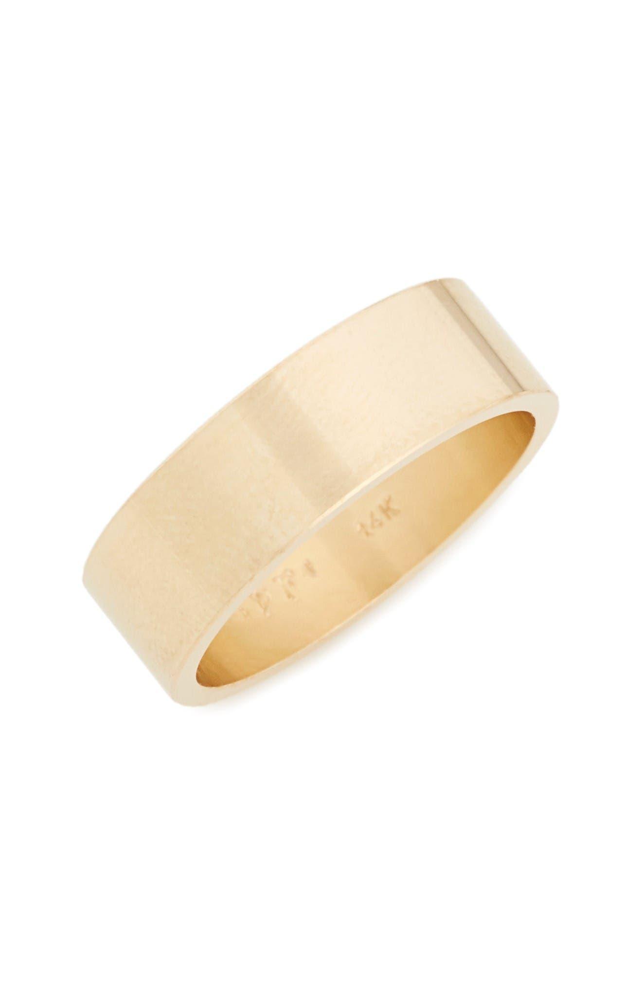 POPPY FINCH Flat Band Ring