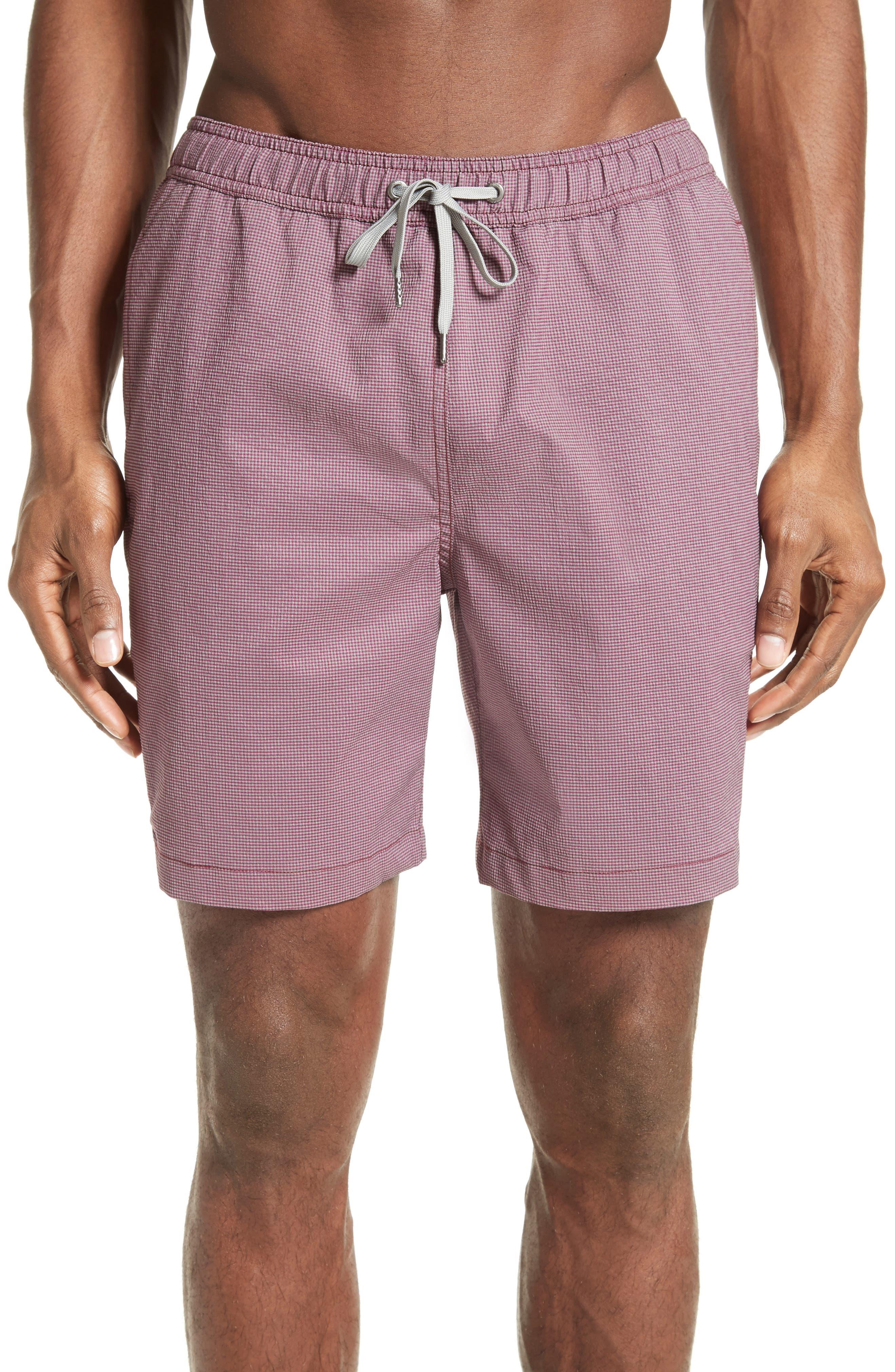 ONIA Charles Yarn Dyed Swim Trunks