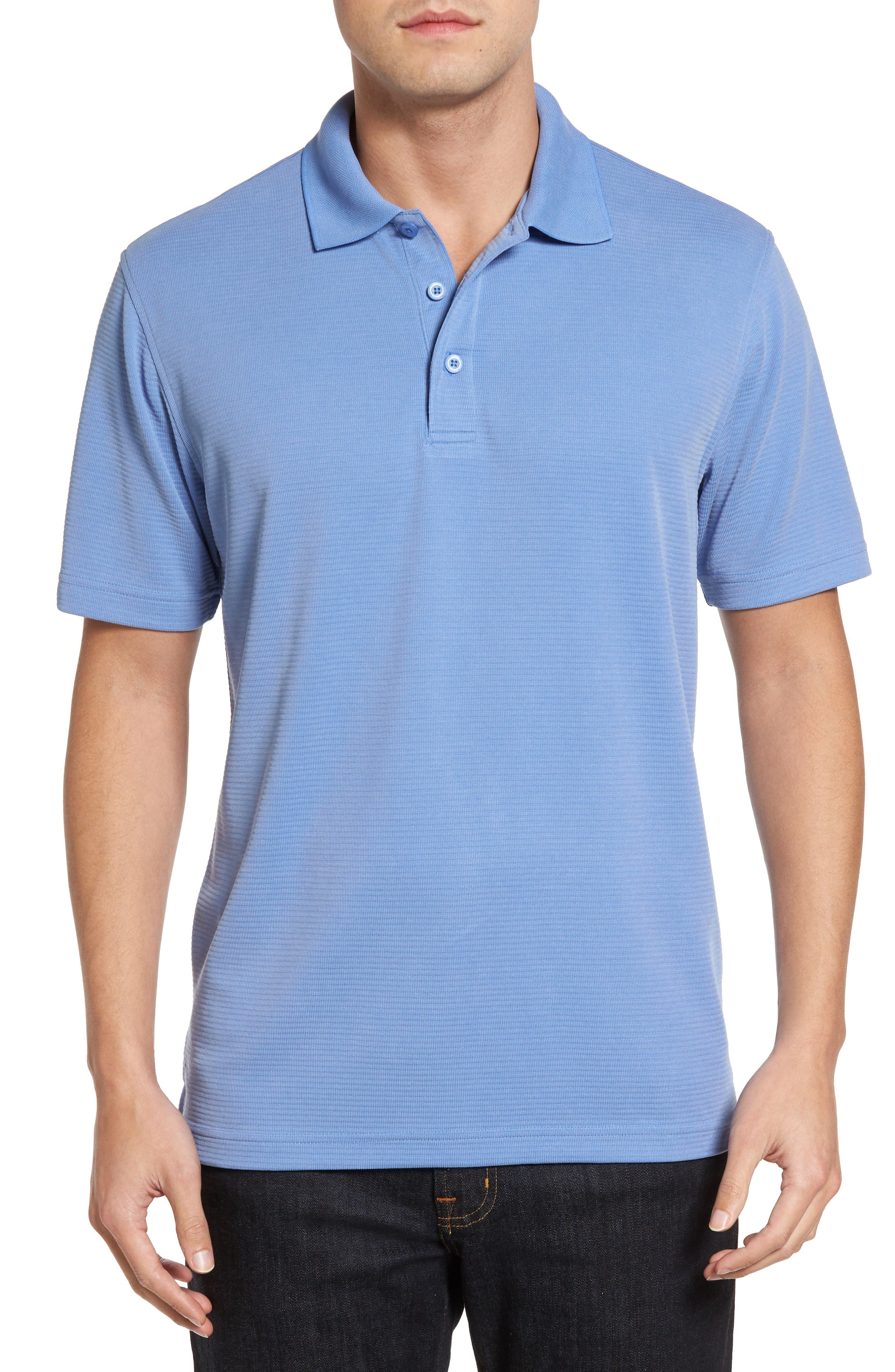BUGATCHI Textured Jersey Polo