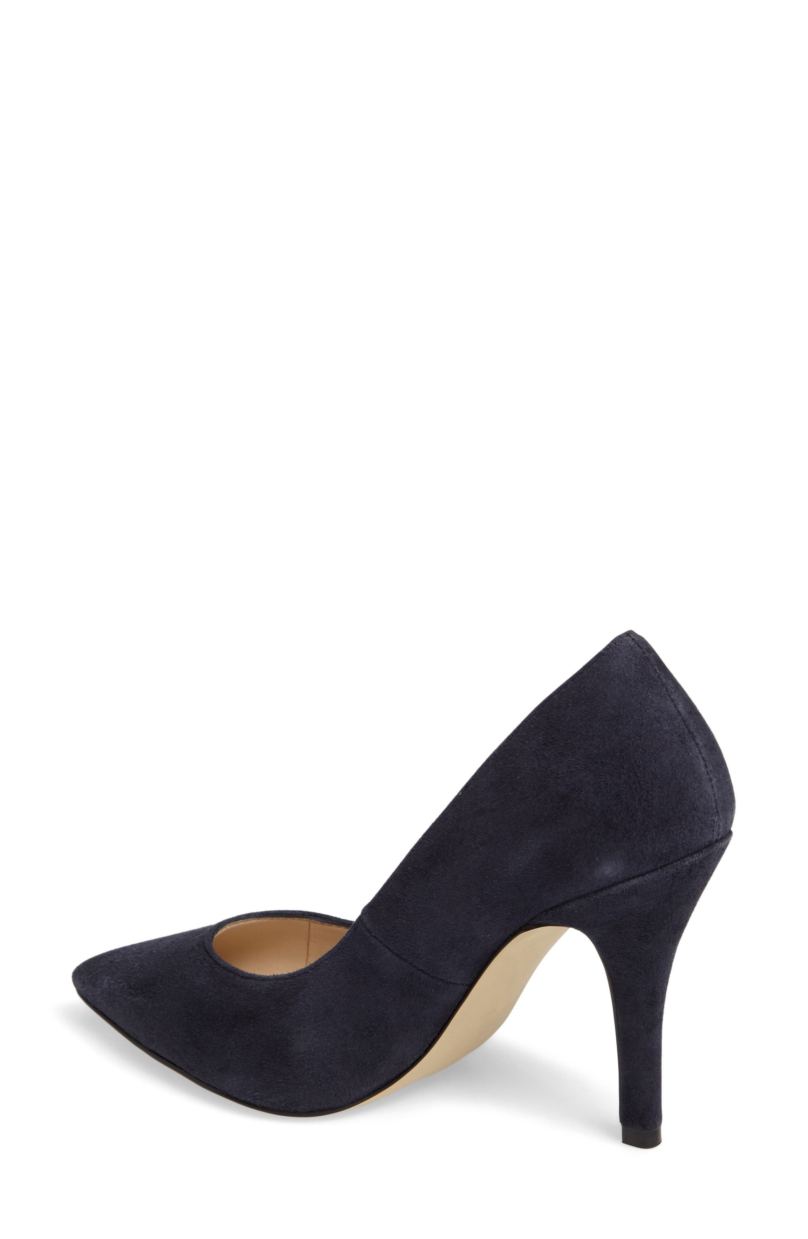 Vally Pointy Toe Pump,                             Alternate thumbnail 2, color,                             Midnight