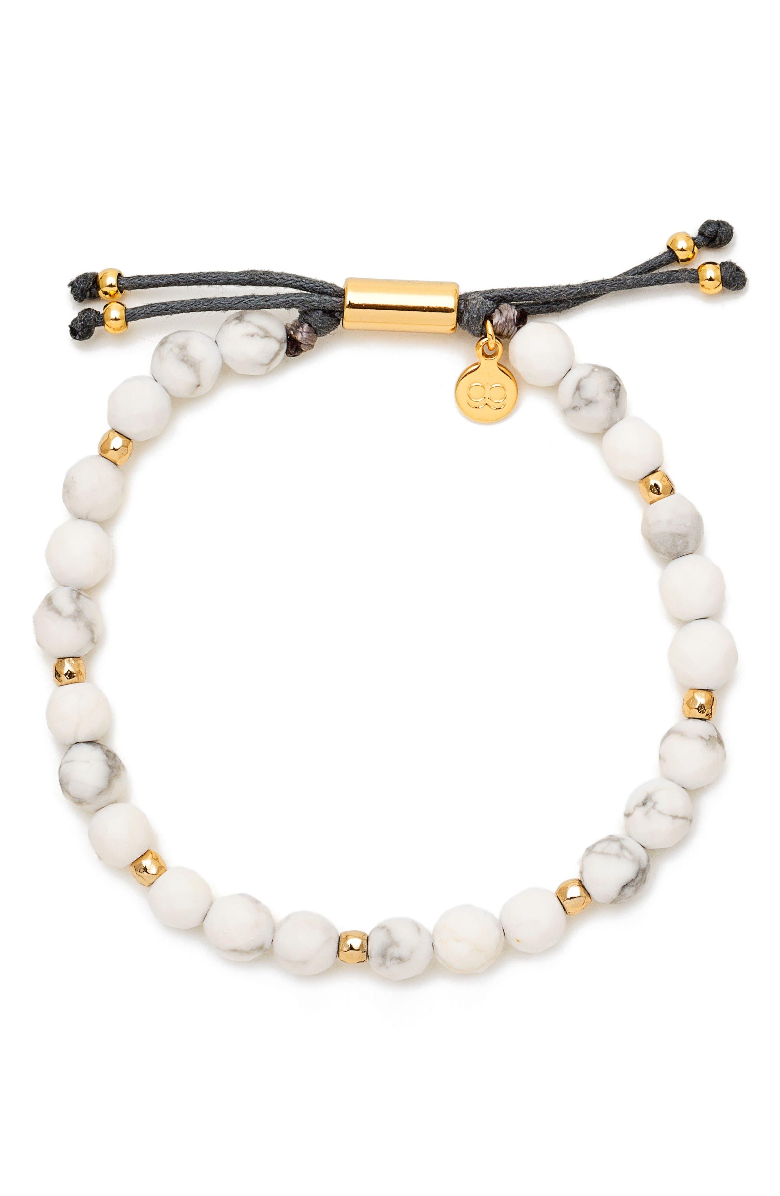 gorjana Power Semiprecious Stone Beaded Bracelet
