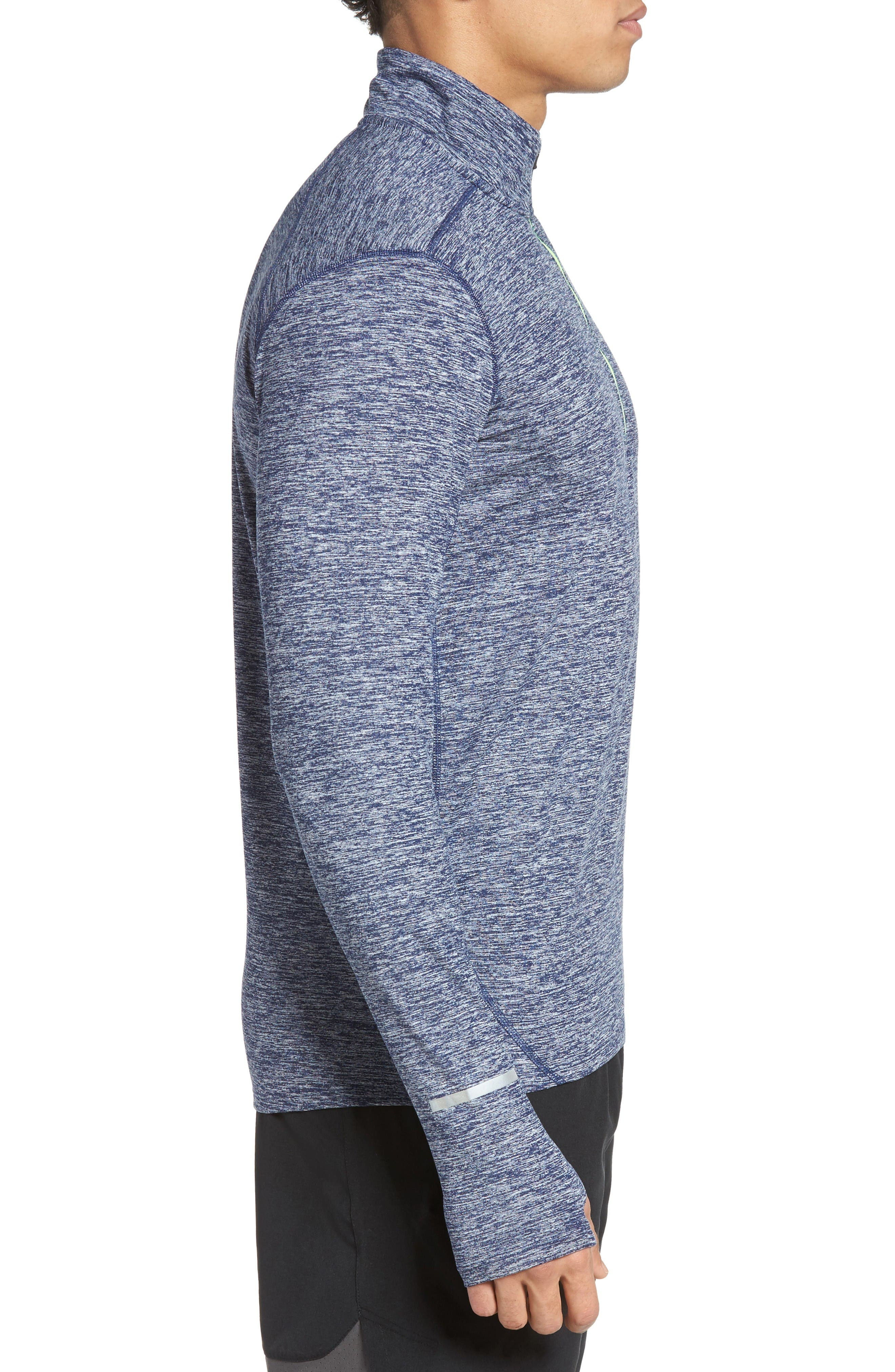 Alternate Image 3  - Nike 'Element' Dri-FIT Quarter Zip Running Top