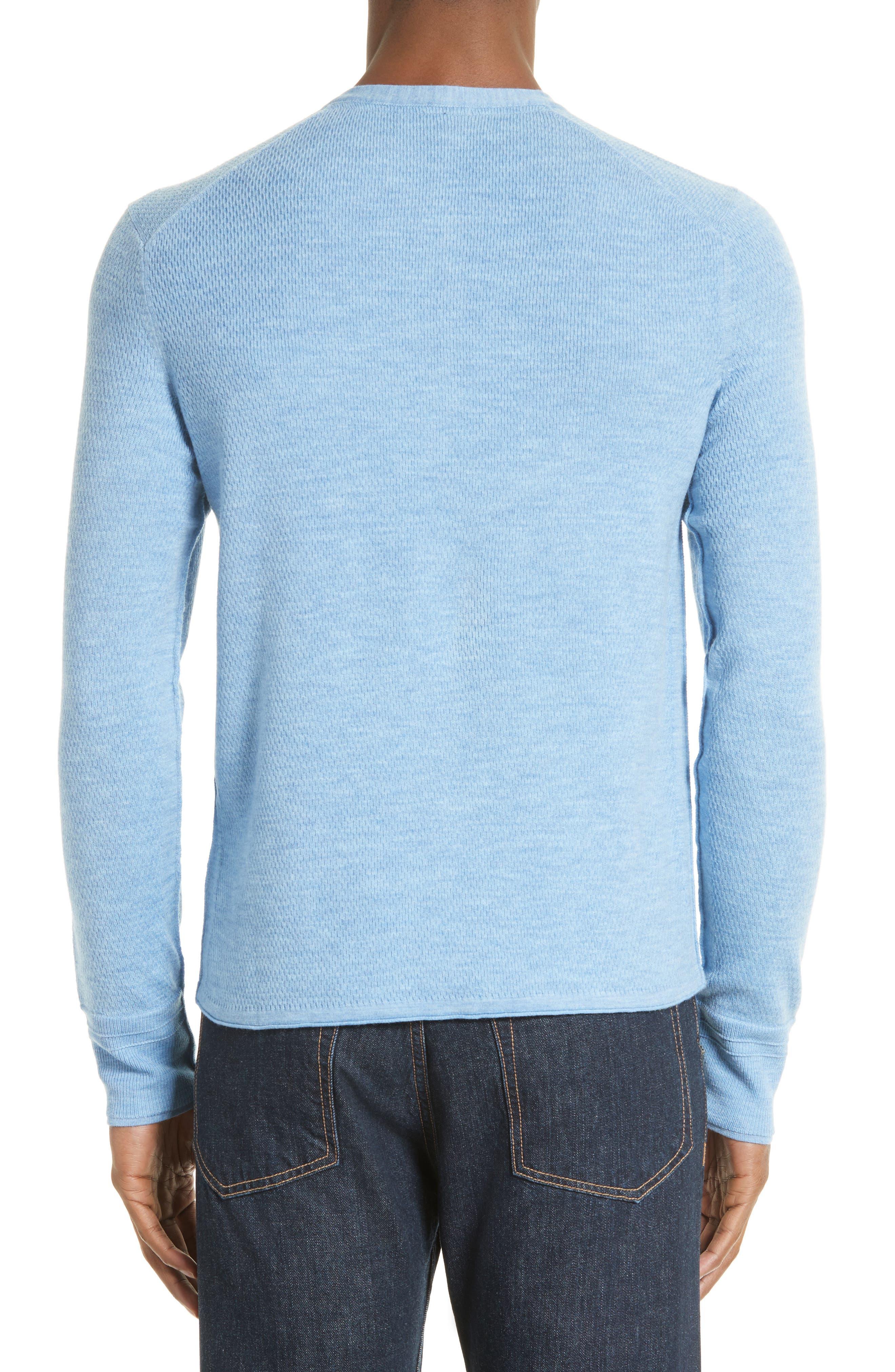 Alternate Image 2  - rag & bone Gregory Wool Blend Henley Sweater