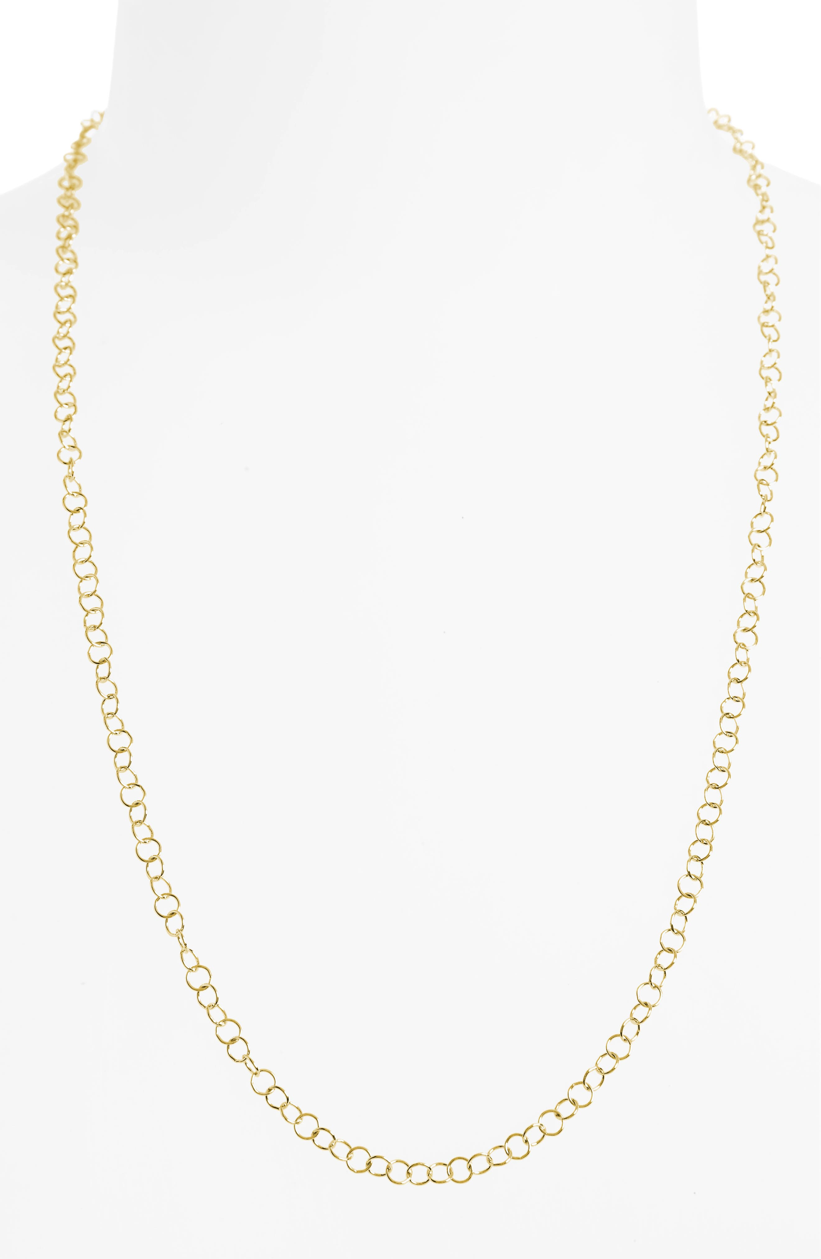 Alternate Image 2  - Temple St. Clair 24-Inch Round Chain Necklace