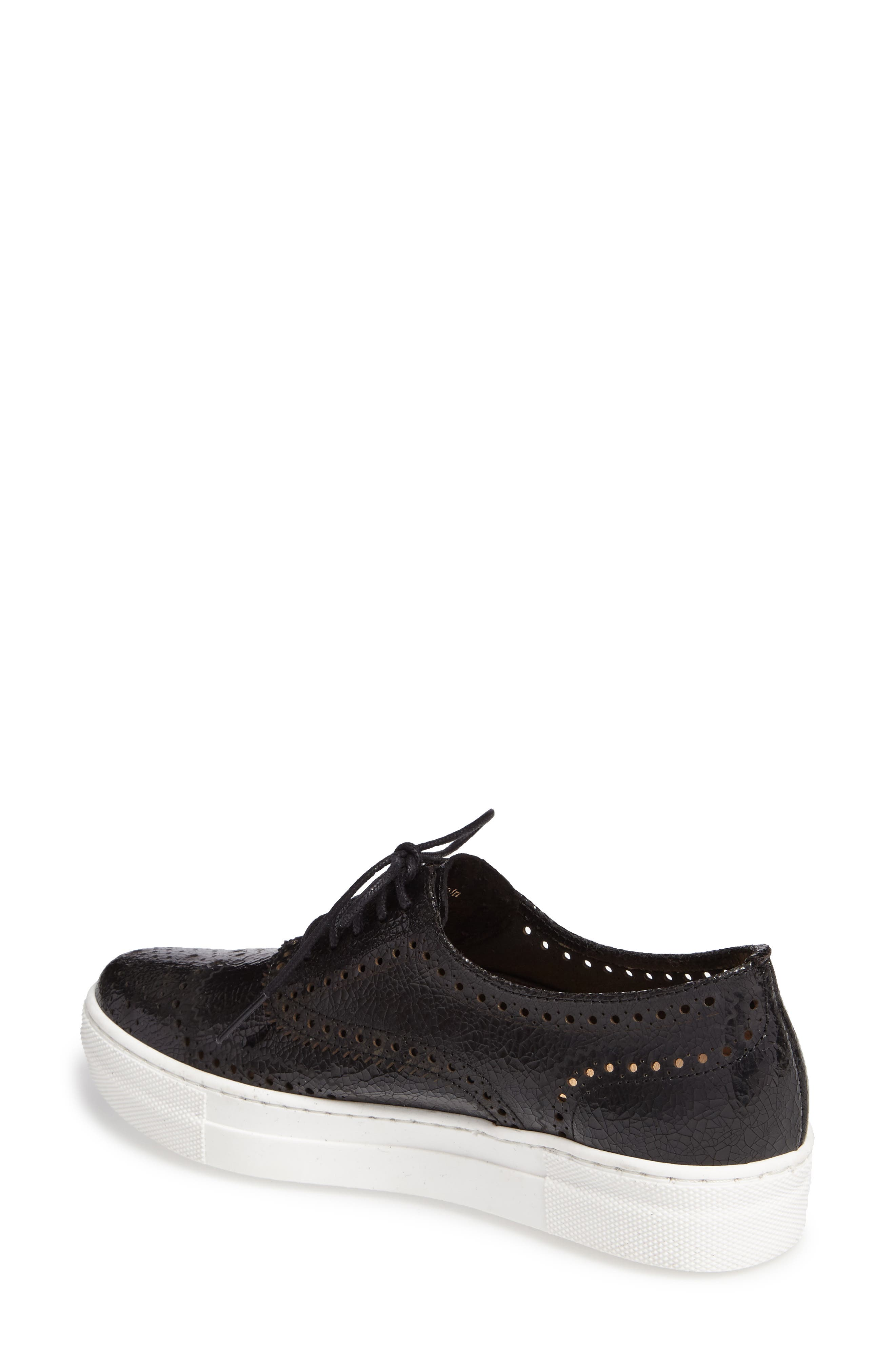 Alternate Image 2  - Shellys London Kimmie Perforated Platform Sneaker (Women)