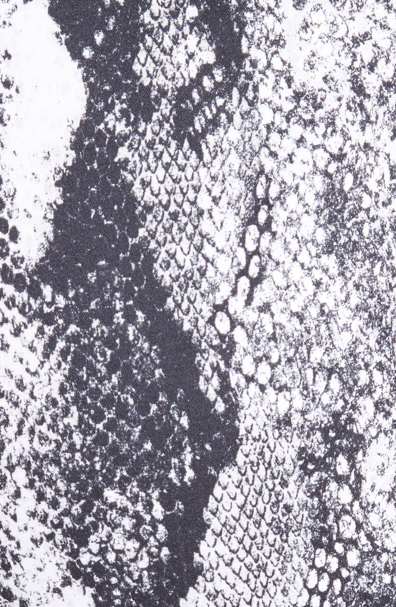 Alternate Image 5  - St. John Collection Emma Raja Snakeskin Print Pants