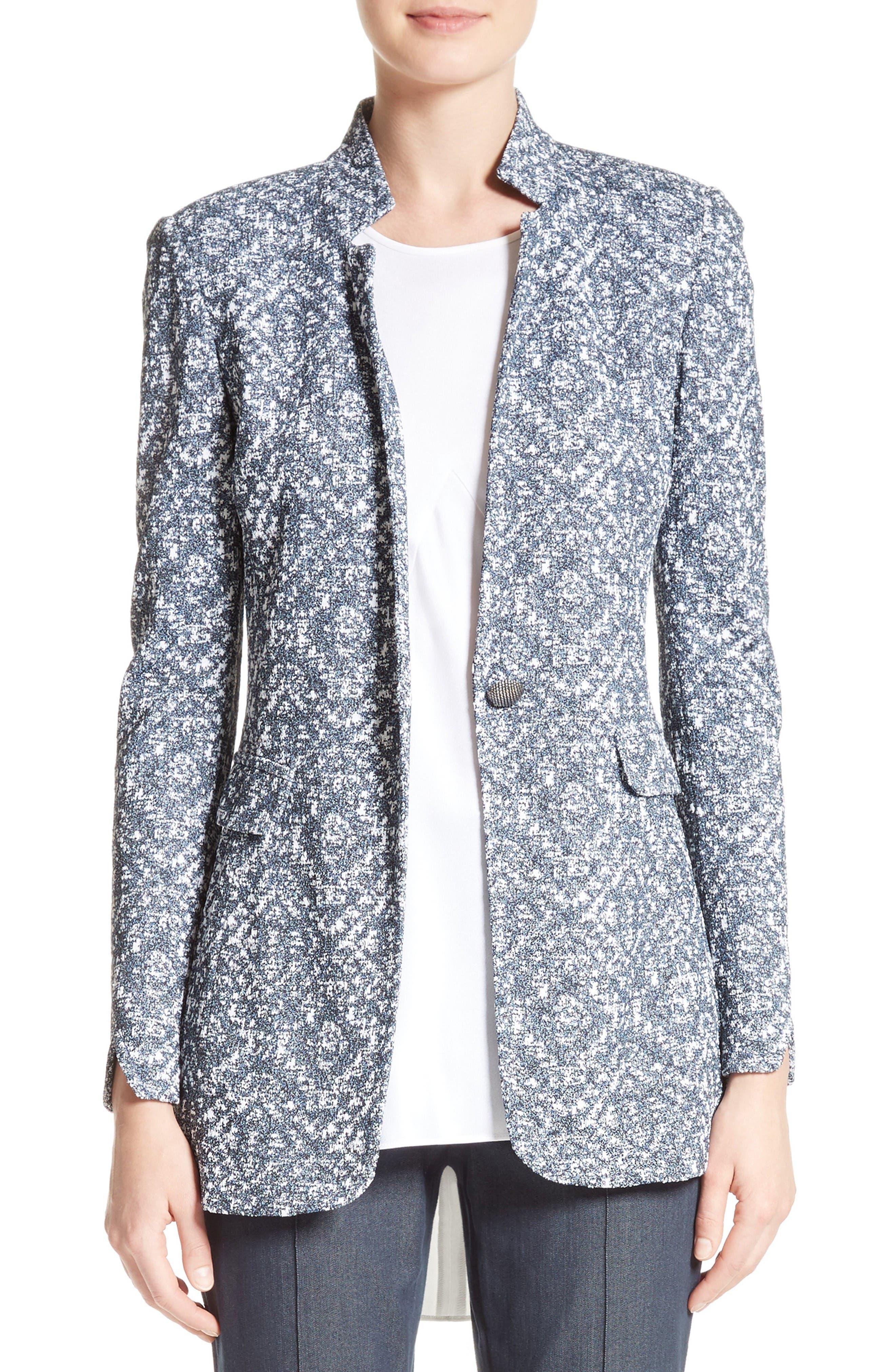 ST. JOHN COLLECTION Devaj Jacquard Knit Jacket