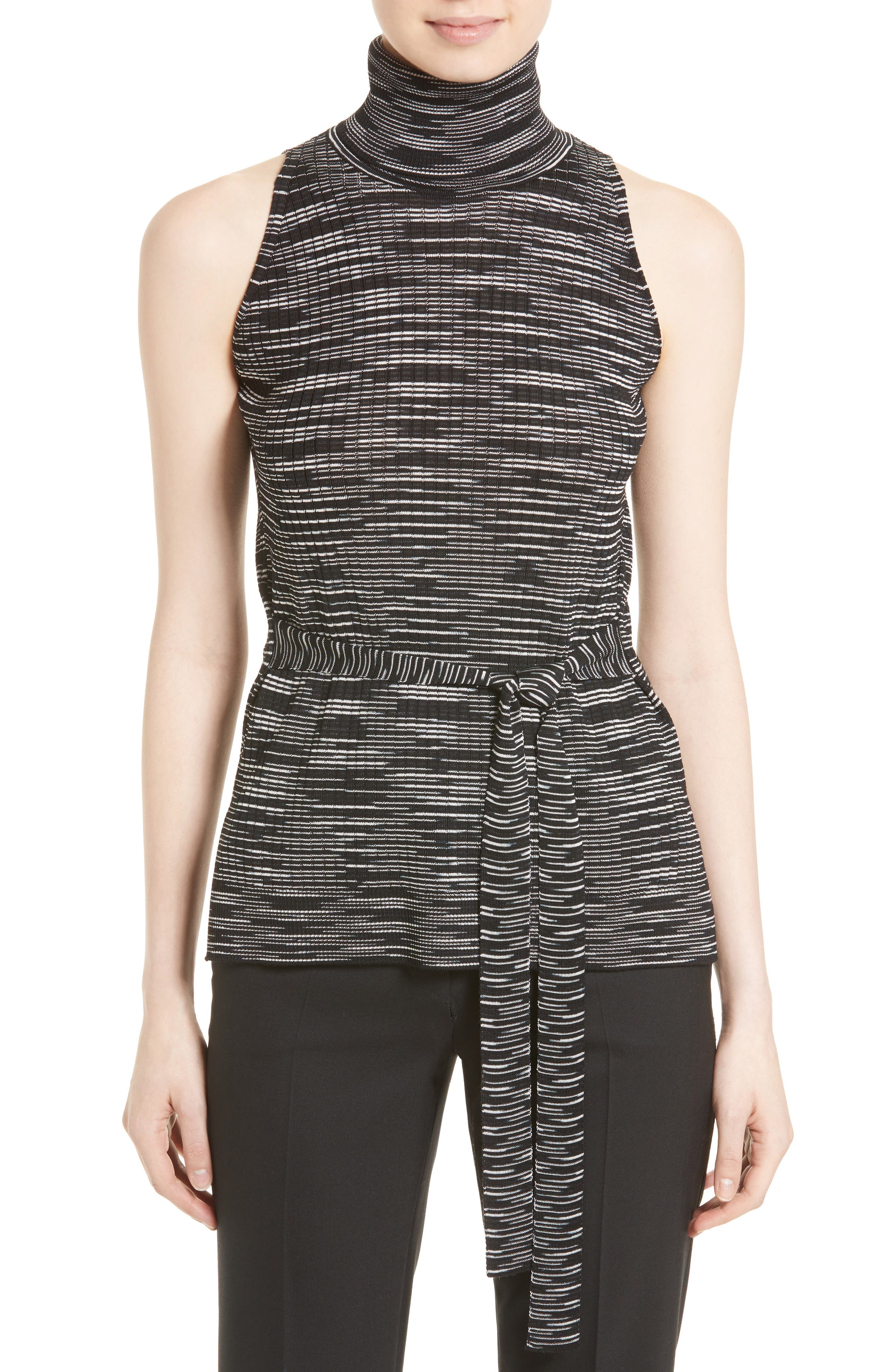 M Missoni Space Dyed Turtleneck Top
