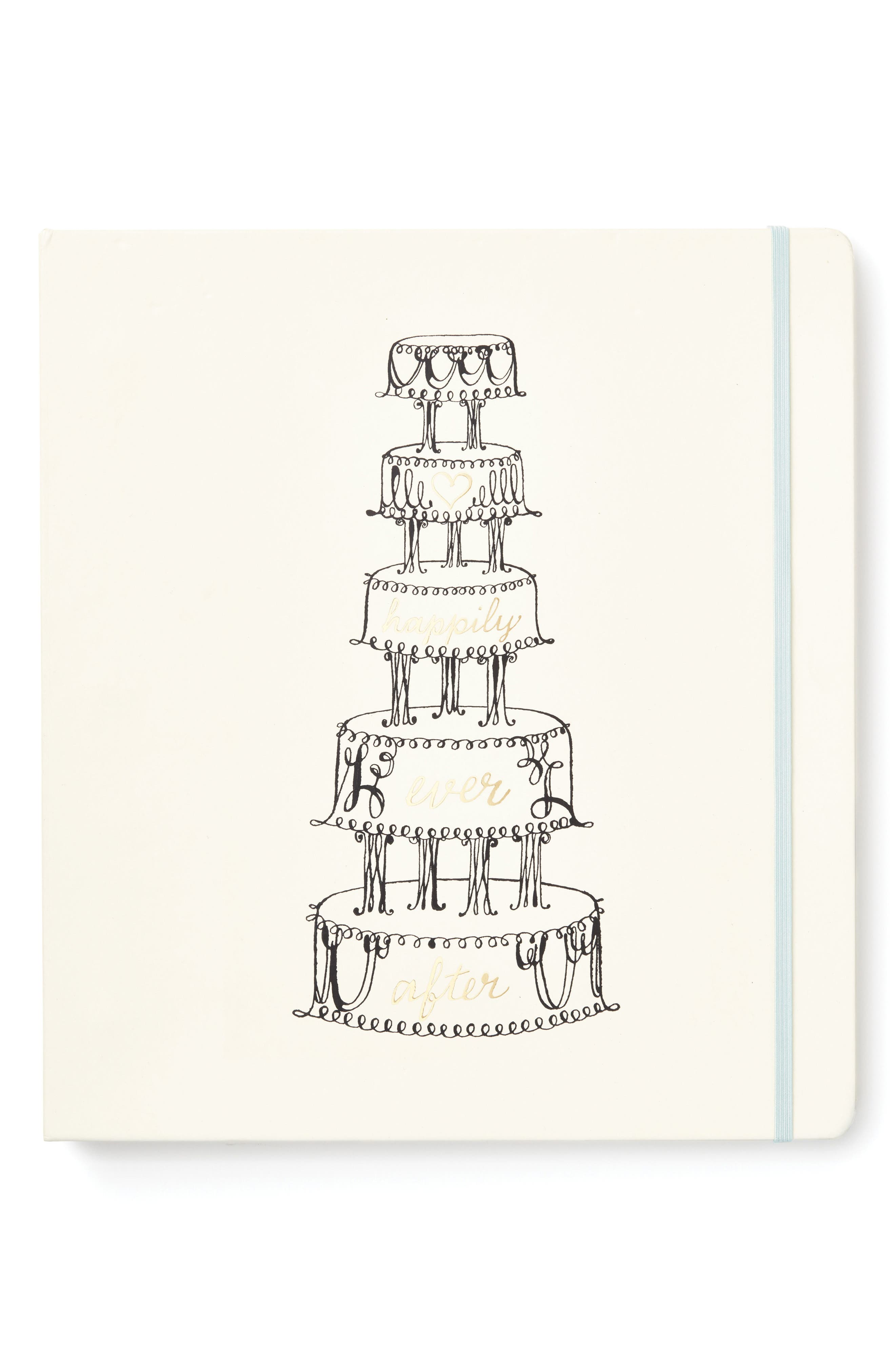 happily ever after bridal planner,                             Main thumbnail 1, color,                             White