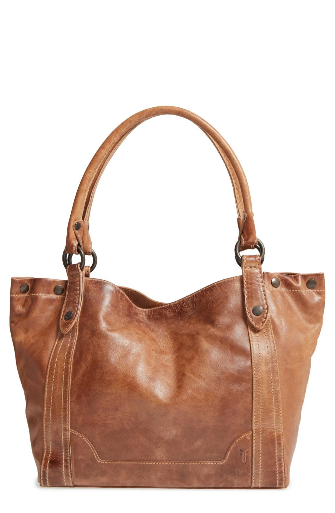 Main Image - Frye Melissa Leather Shoulder Bag