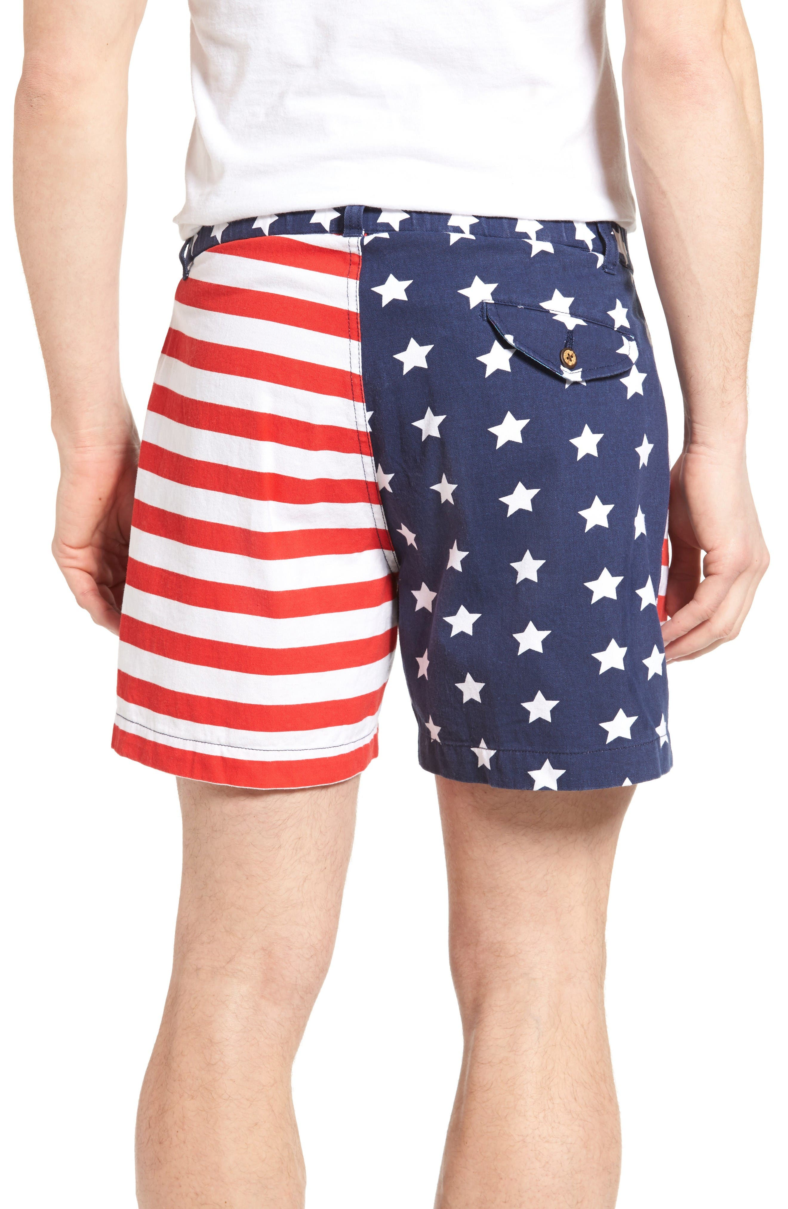 Alternate Image 2  - Vintage 1946 Snappers Americana Shorts