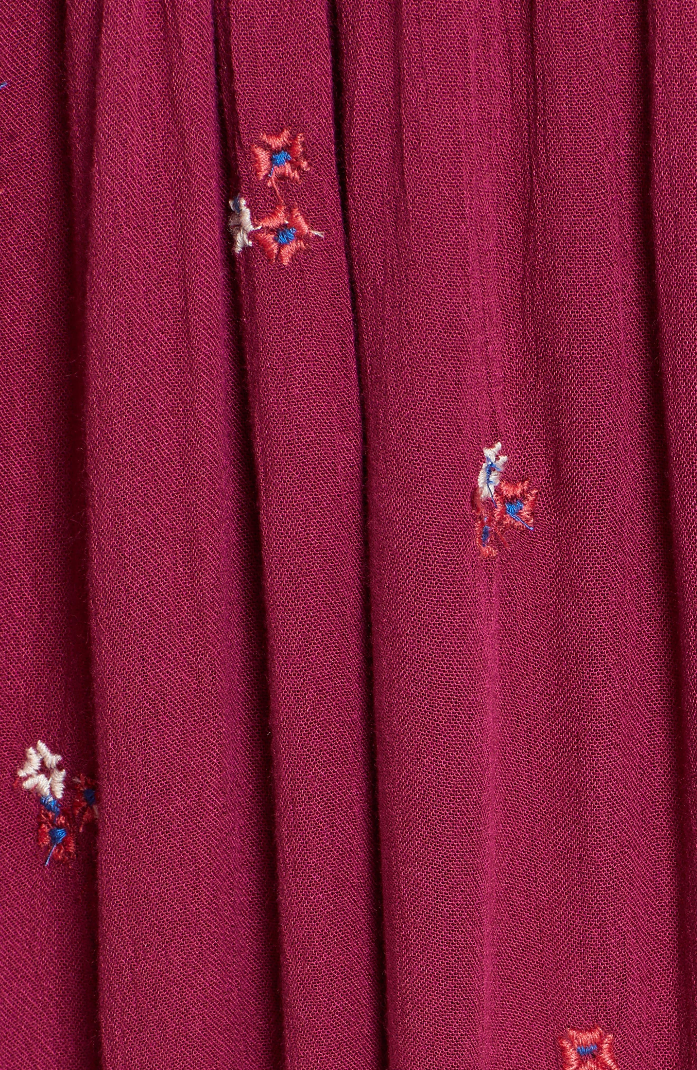 Alternate Image 5  - Free People Embroidered Minidress