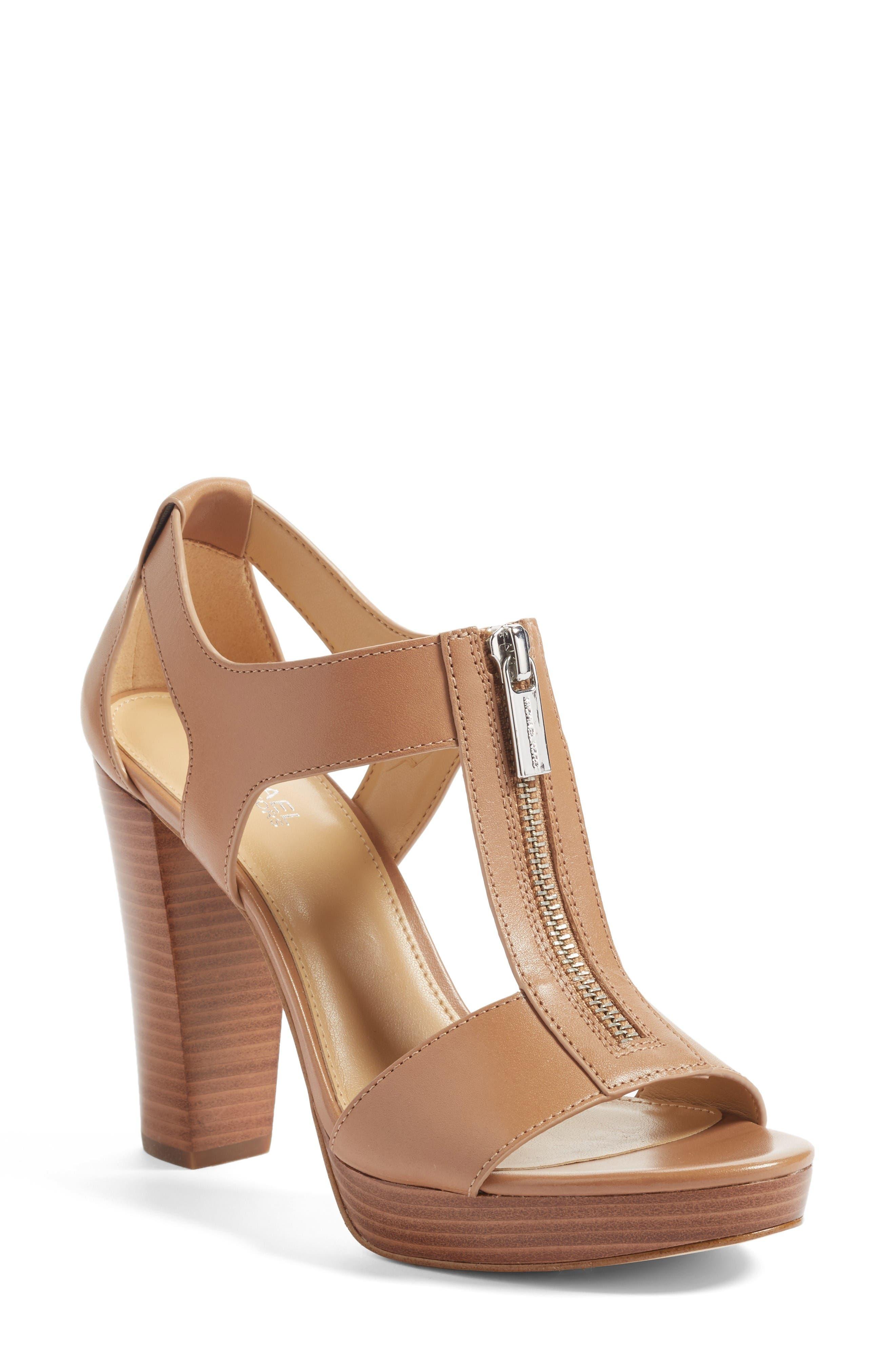 Main Image - MICHAEL Michael Kors 'Berkley' T-Strap Sandal (Women)