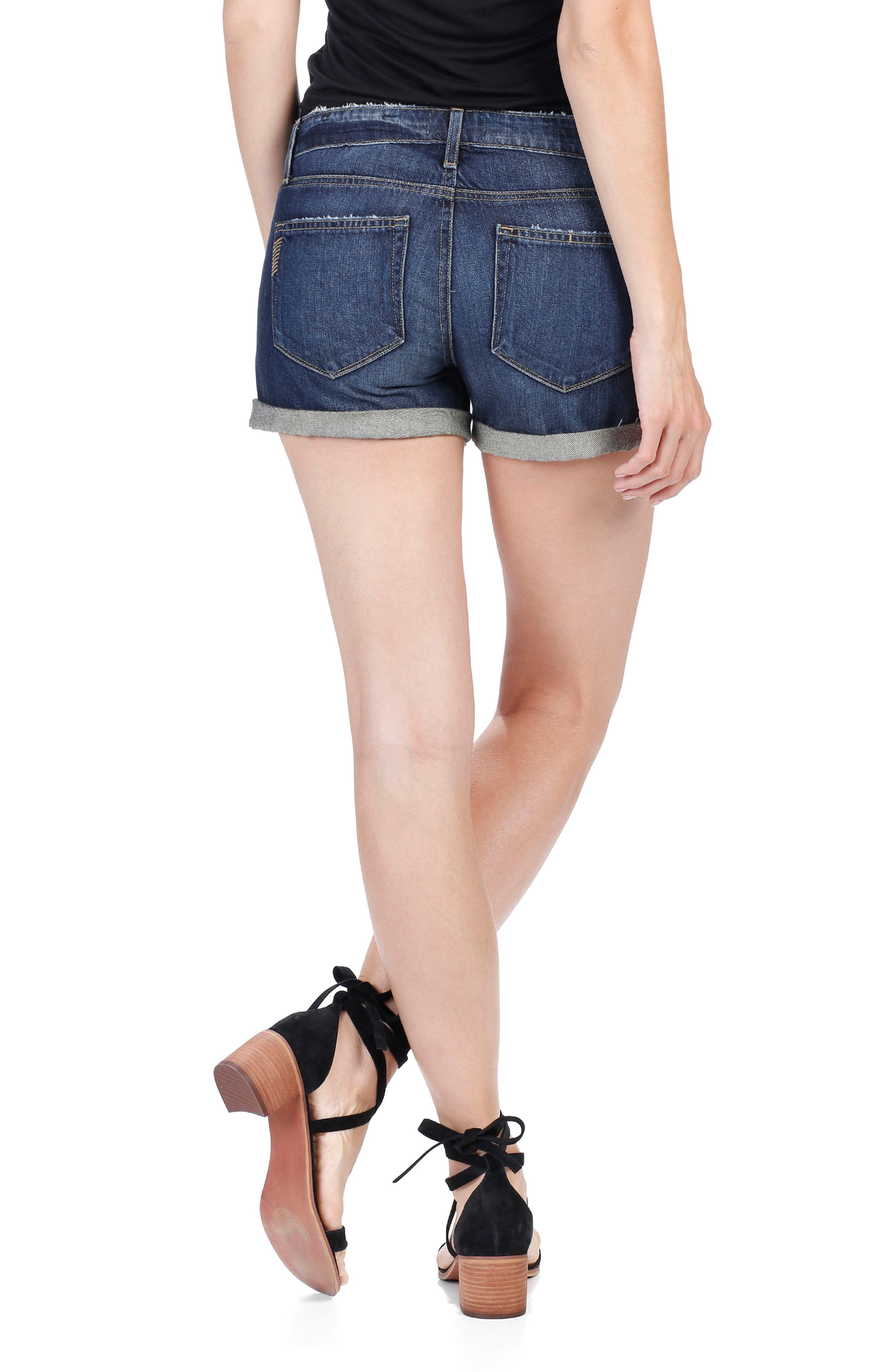 Alternate Image 3  - PAIGE Jimmy Jimmy Denim Shorts (Virginia)